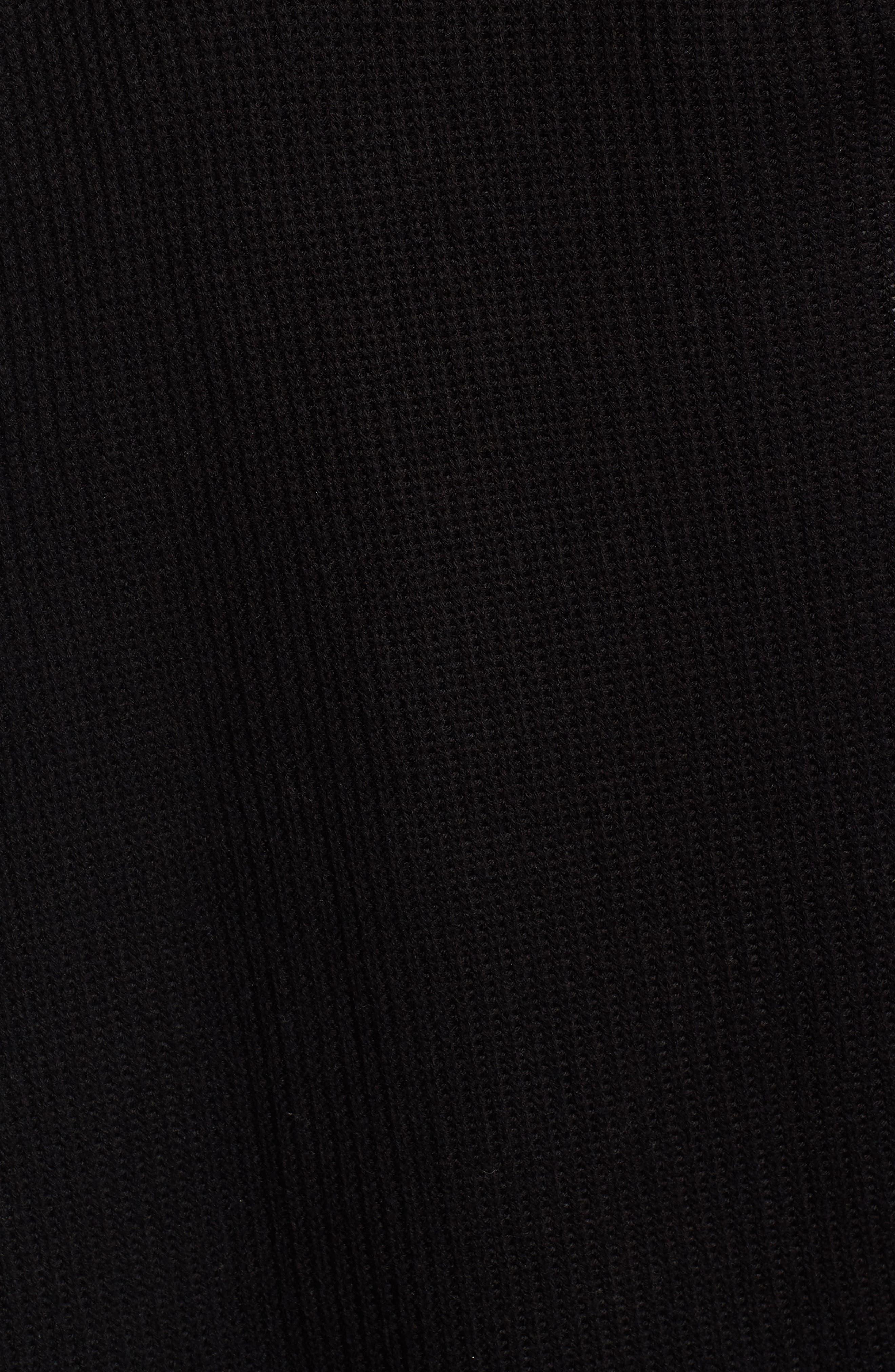 HALOGEN<SUP>®</SUP>,                             Long Knit Vest,                             Alternate thumbnail 5, color,                             001