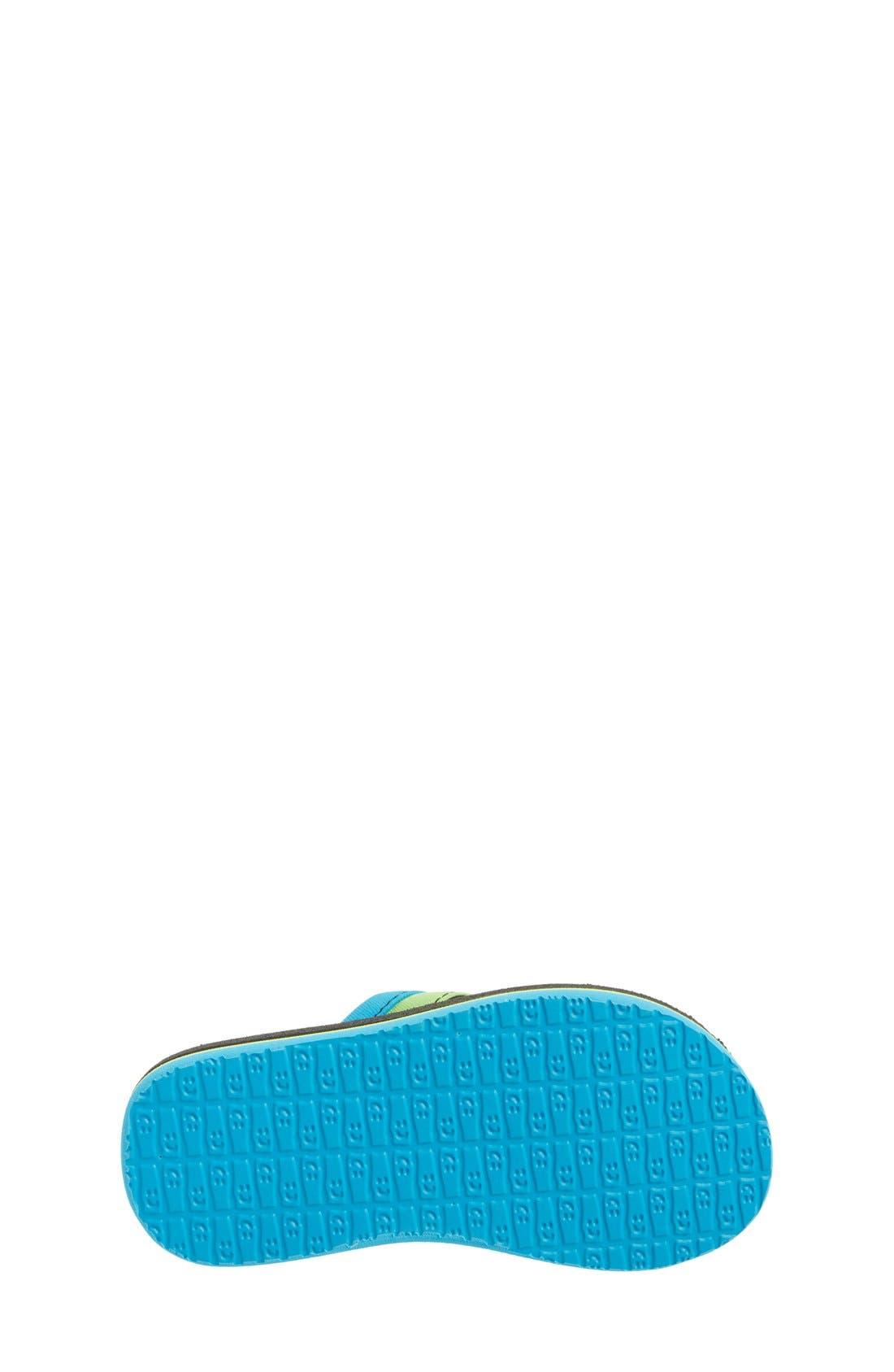 'Rootbeer Cozy' Lightweight Flip Flop Sandal,                             Alternate thumbnail 9, color,