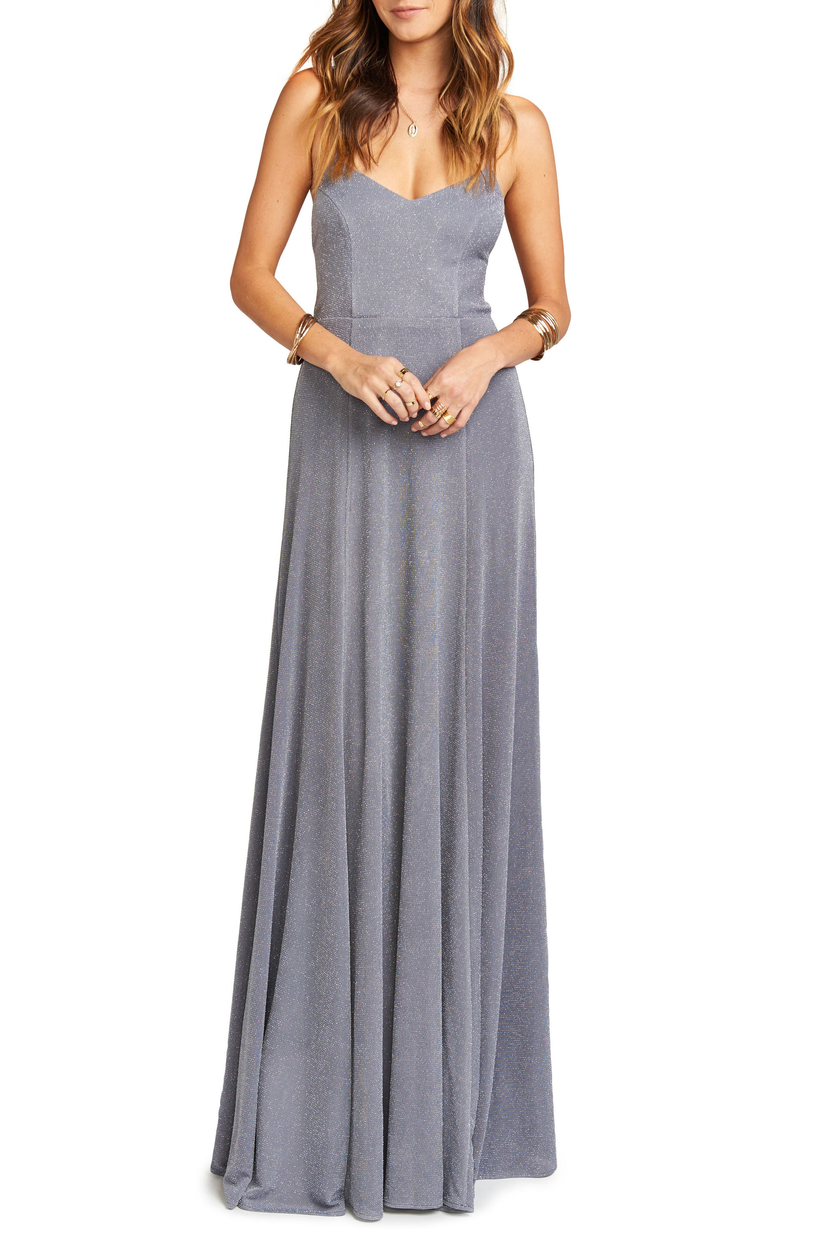 Godshaw Open Back Gown,                         Main,                         color, 030