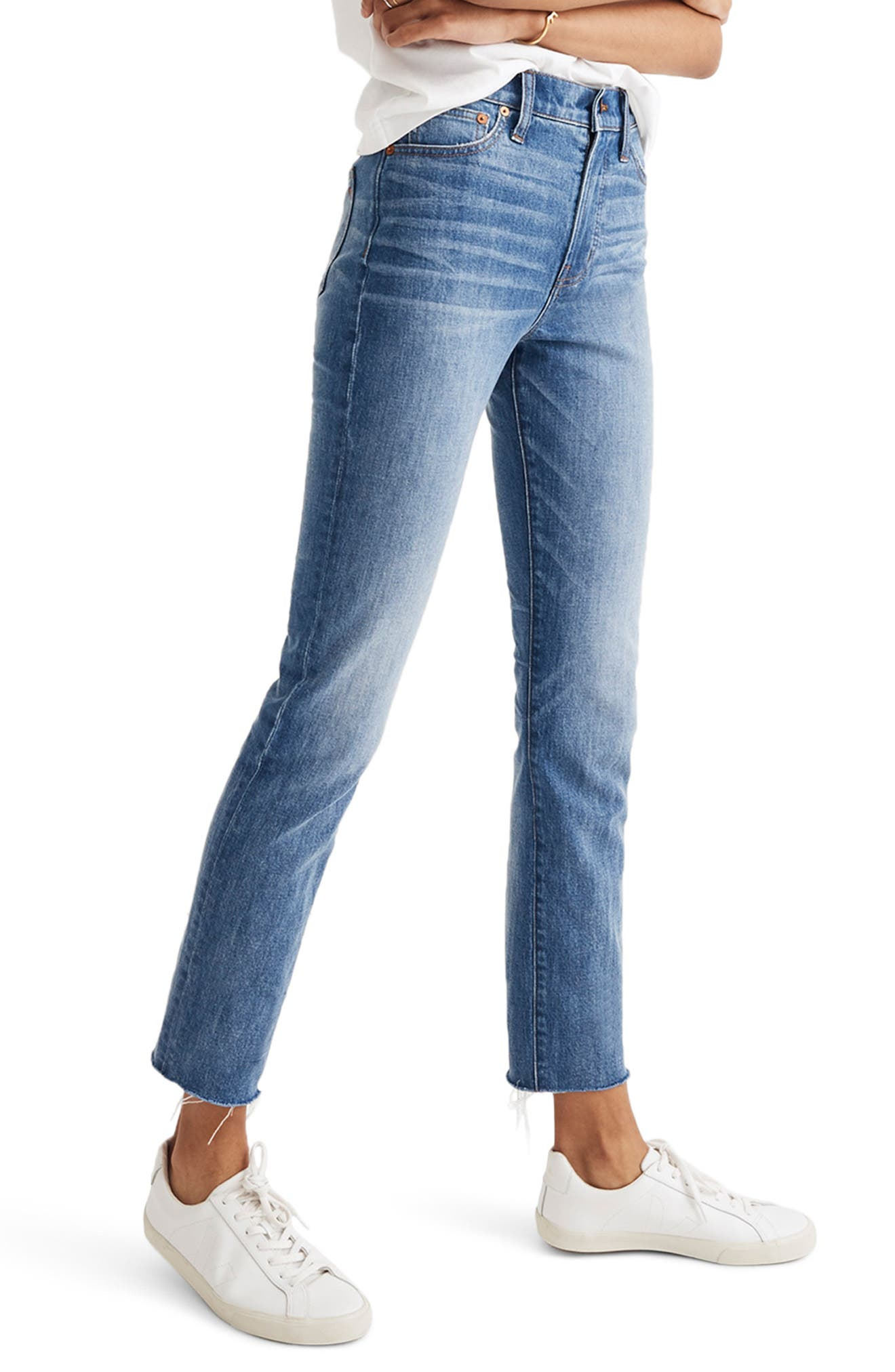 The Perfect Vintage High Waist Stretch Jeans,                         Main,                         color, 400