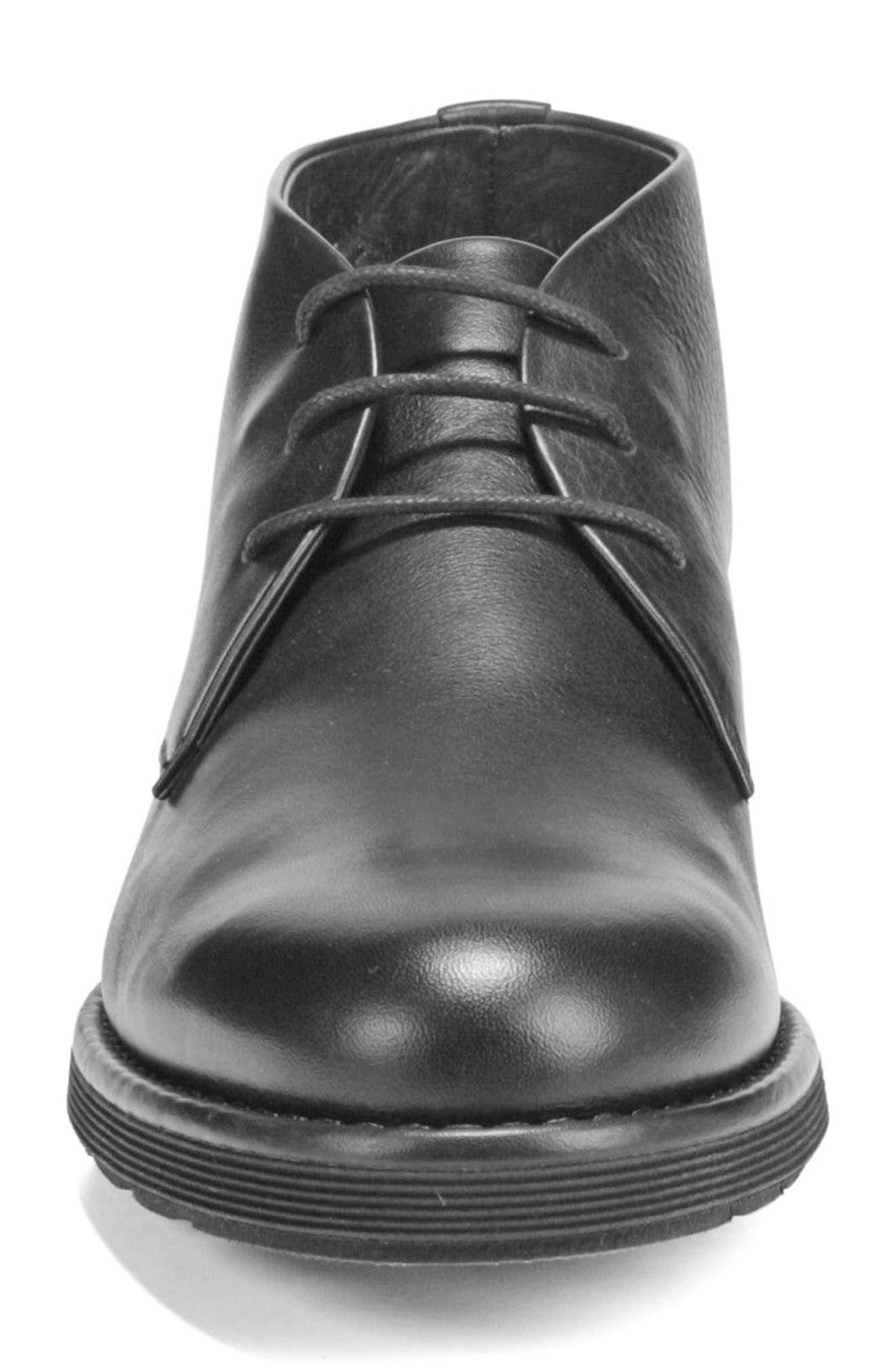 Walden Chukka Boot,                             Alternate thumbnail 4, color,                             BLACK