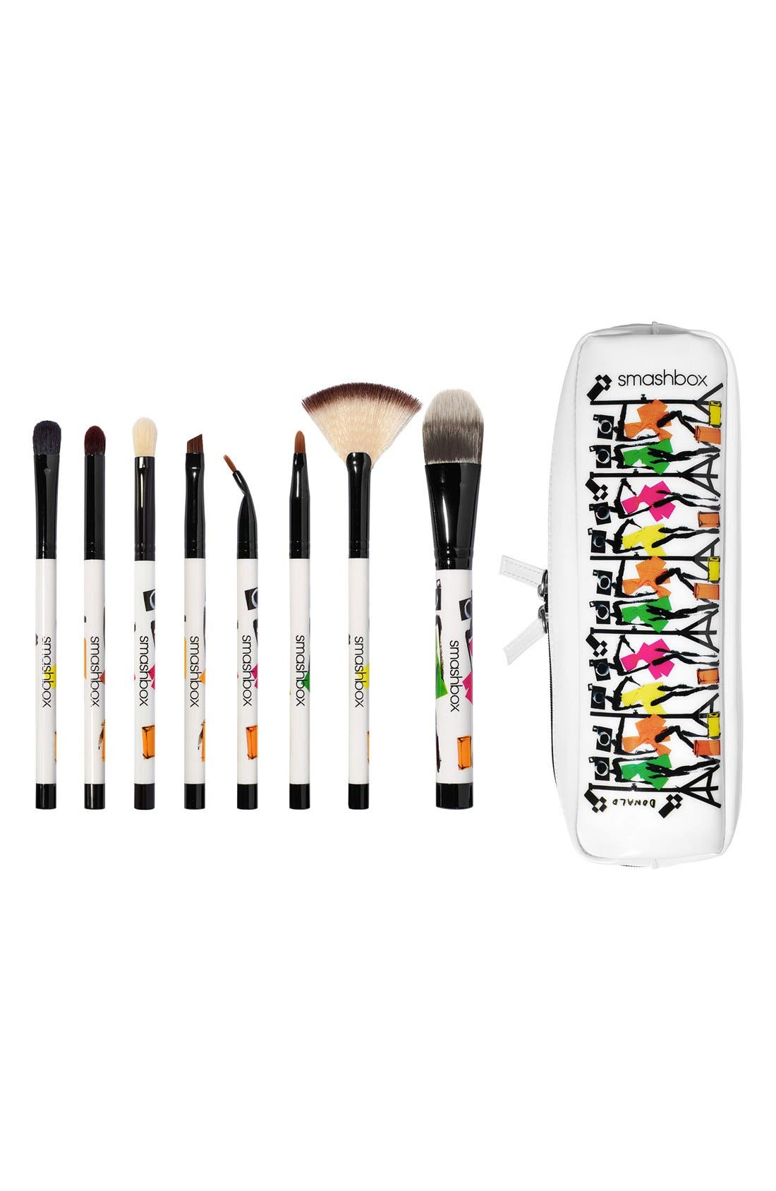 'Photo Bombshell' 8-Piece Brush Collection,                             Alternate thumbnail 2, color,                             000