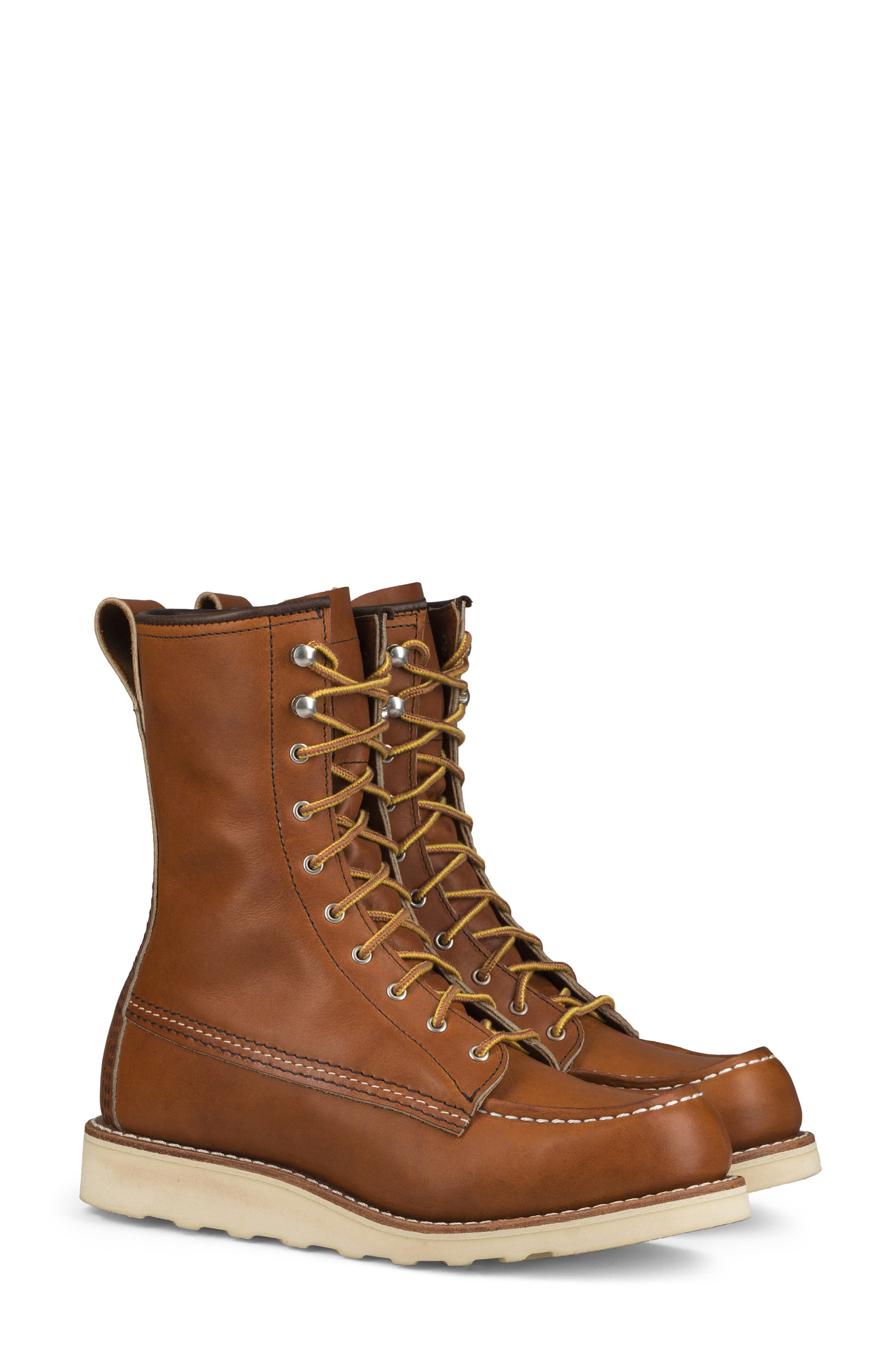 RED WING 8-Inch Moc Boot in Oro Legacy Leather