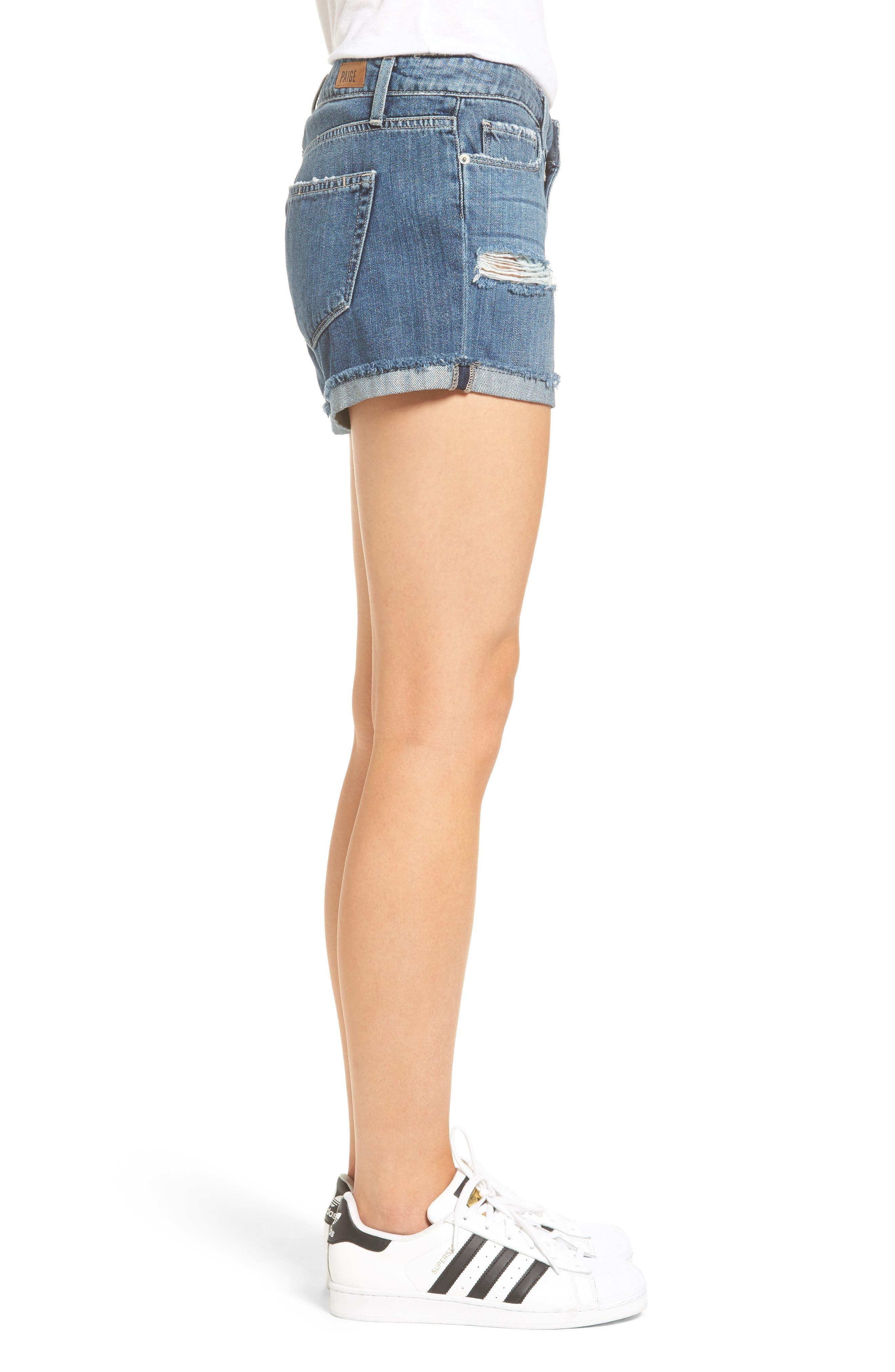 Jimmy Jimmy Denim Shorts,                             Alternate thumbnail 3, color,