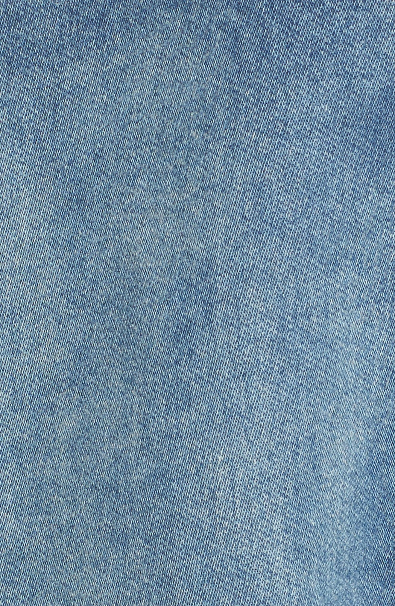 Denim Jacket,                             Alternate thumbnail 6, color,                             420