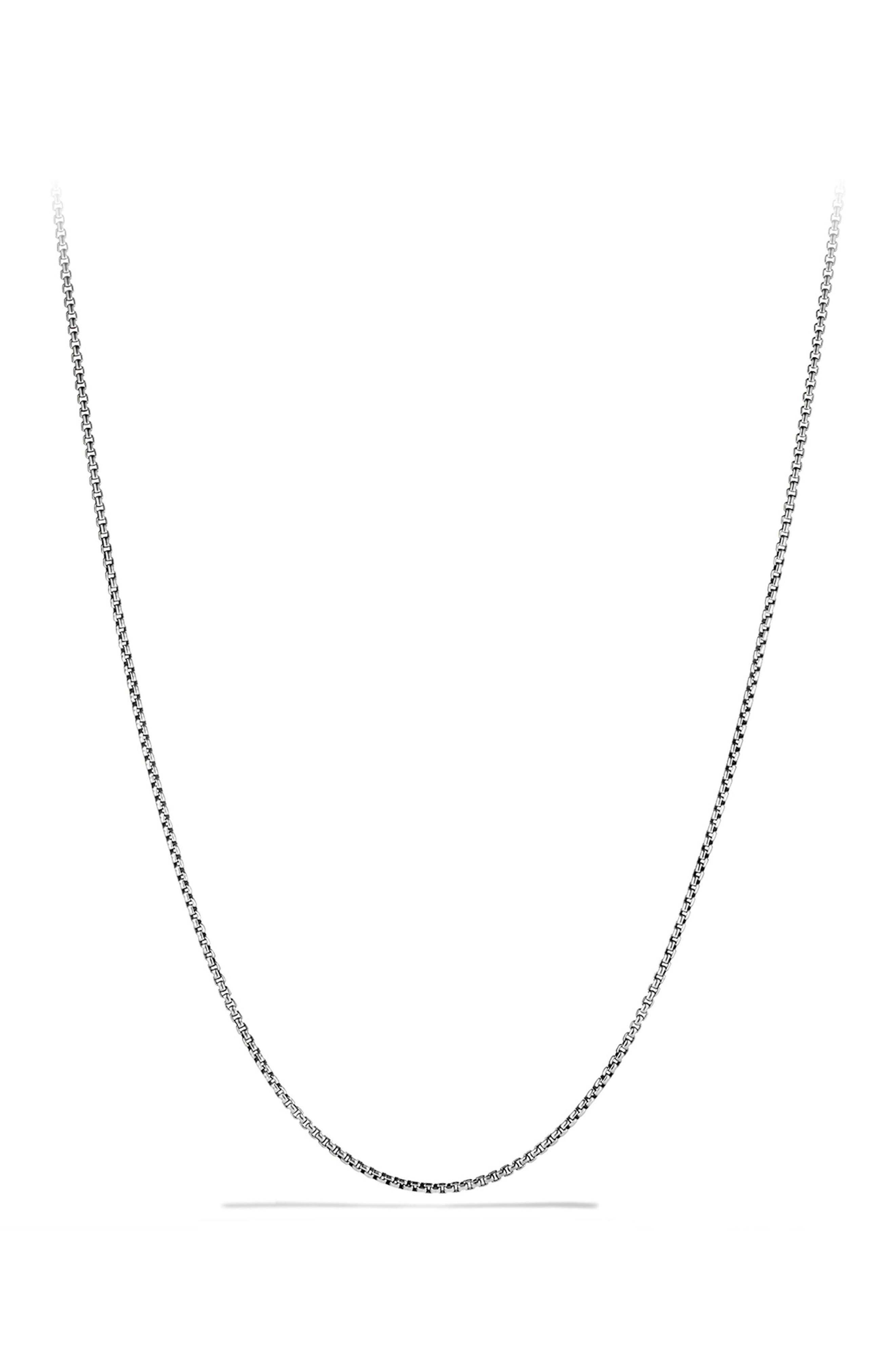 'Chain' Necklace,                         Main,                         color, SILVER