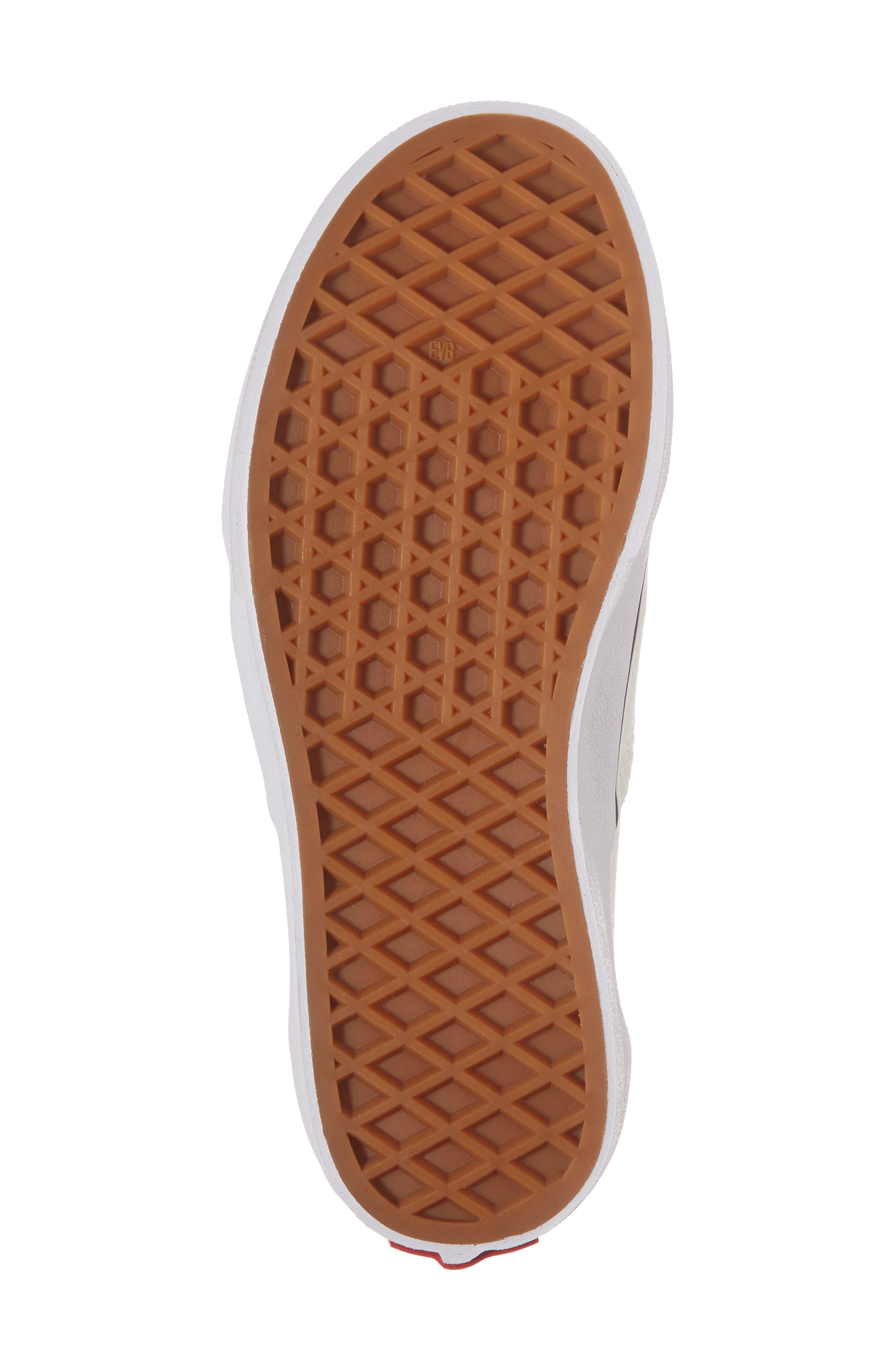 Authentic Elastic Lace Sneaker,                             Alternate thumbnail 6, color,                             420