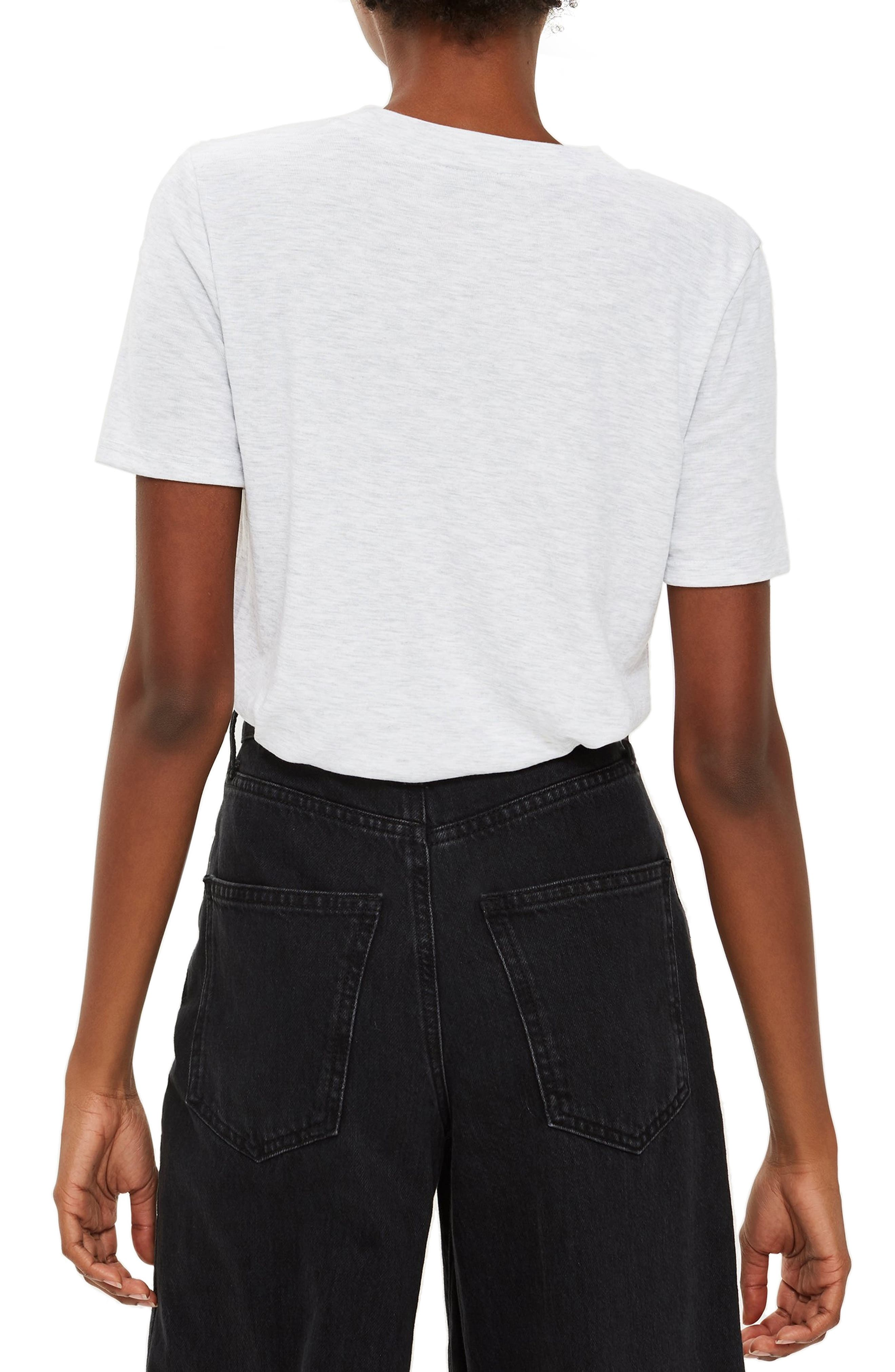 Premium Clean T-Shirt,                             Alternate thumbnail 2, color,                             GREY