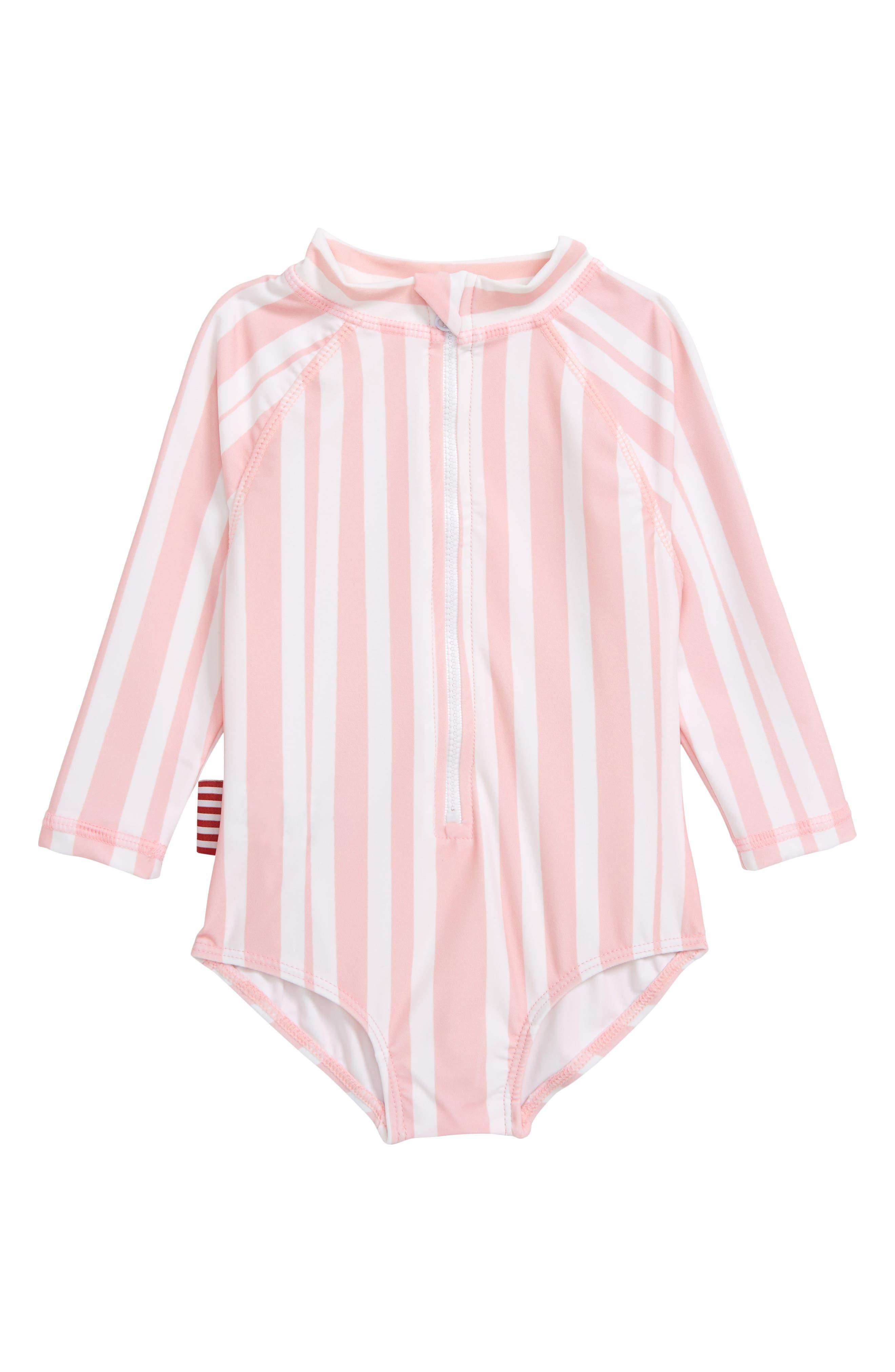 Love You Mucha One-Piece Rashguard Swimsuit,                         Main,                         color, 650