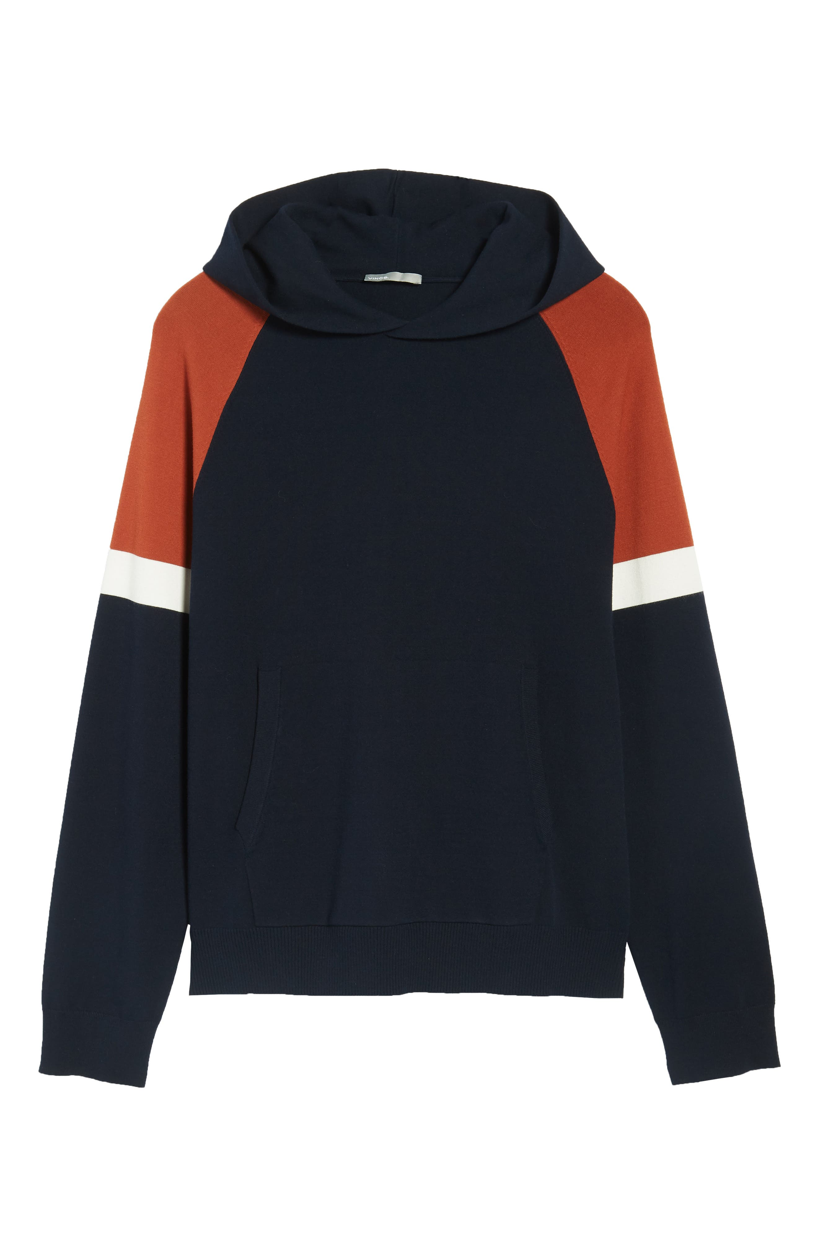 Colorblocked Pullover Hoodie,                             Alternate thumbnail 12, color,