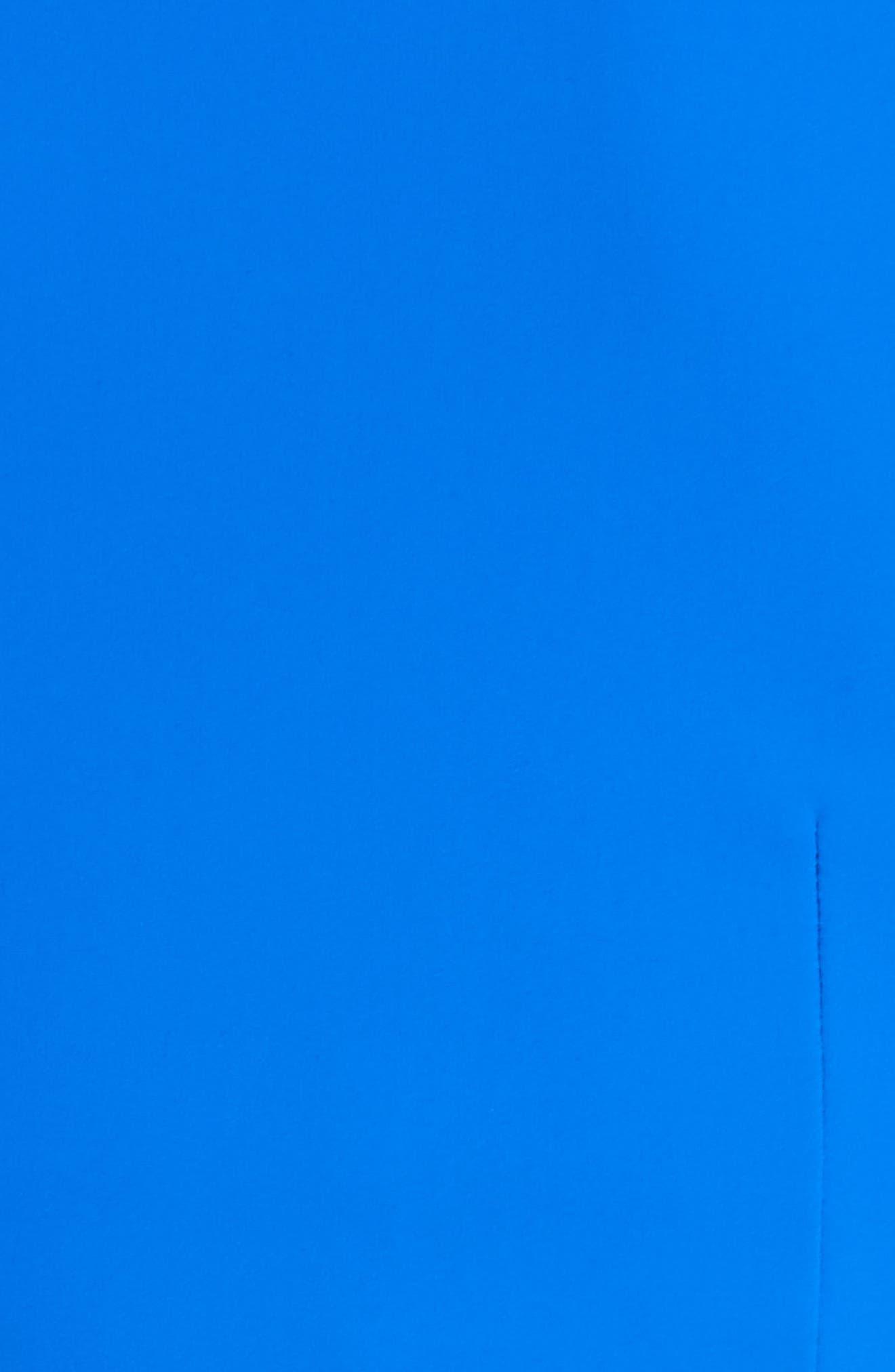 Slit Bodice Drape Front Gown,                             Alternate thumbnail 5, color,                             COLBALT