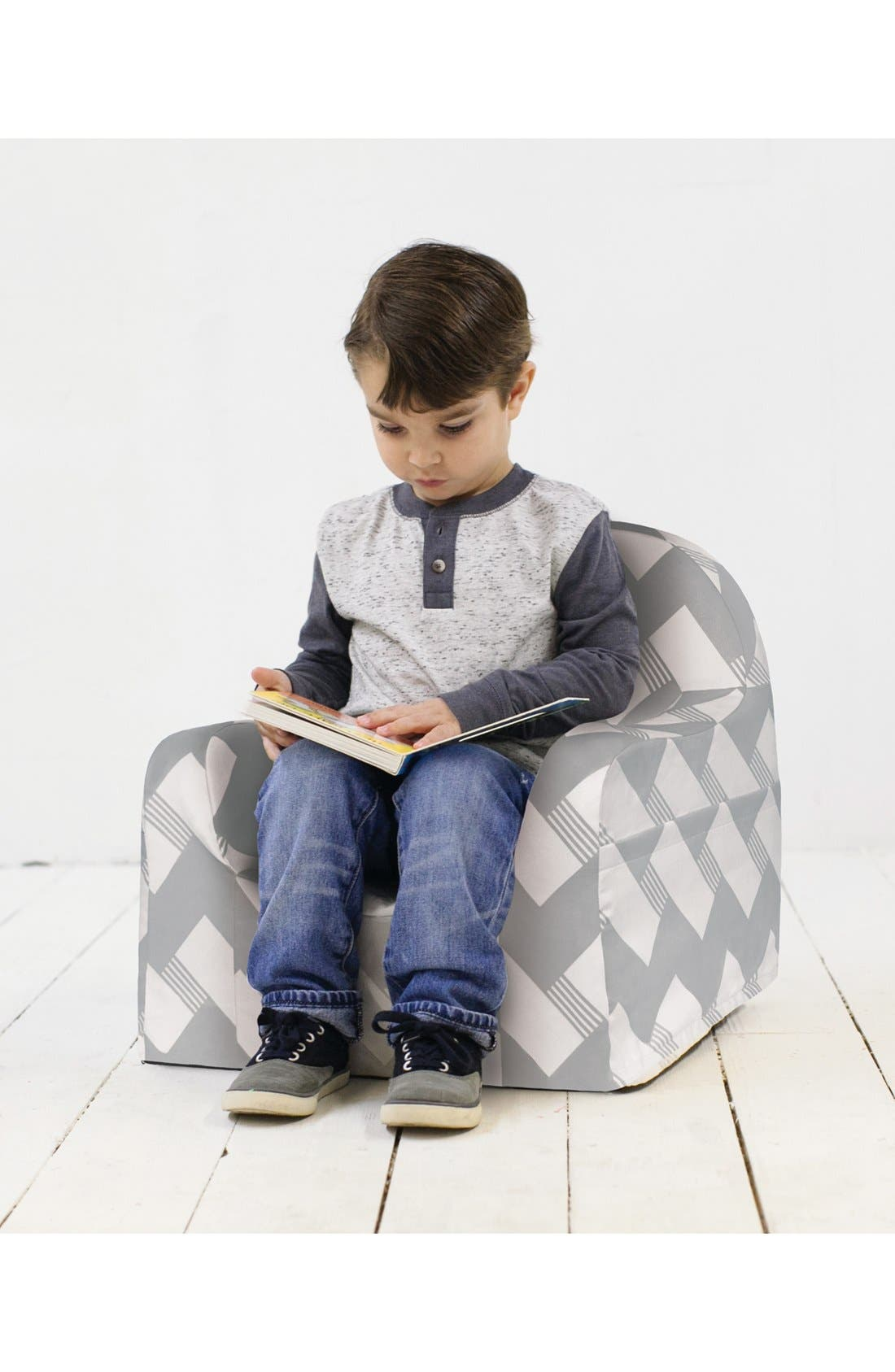 'Personalized Little Reader' Chair,                             Alternate thumbnail 2, color,                             020