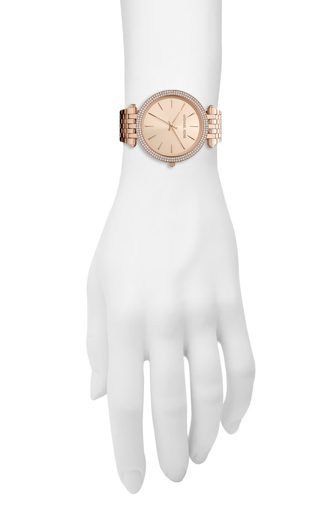 'Darci' Round Bracelet Watch, 39mm,                             Alternate thumbnail 32, color,