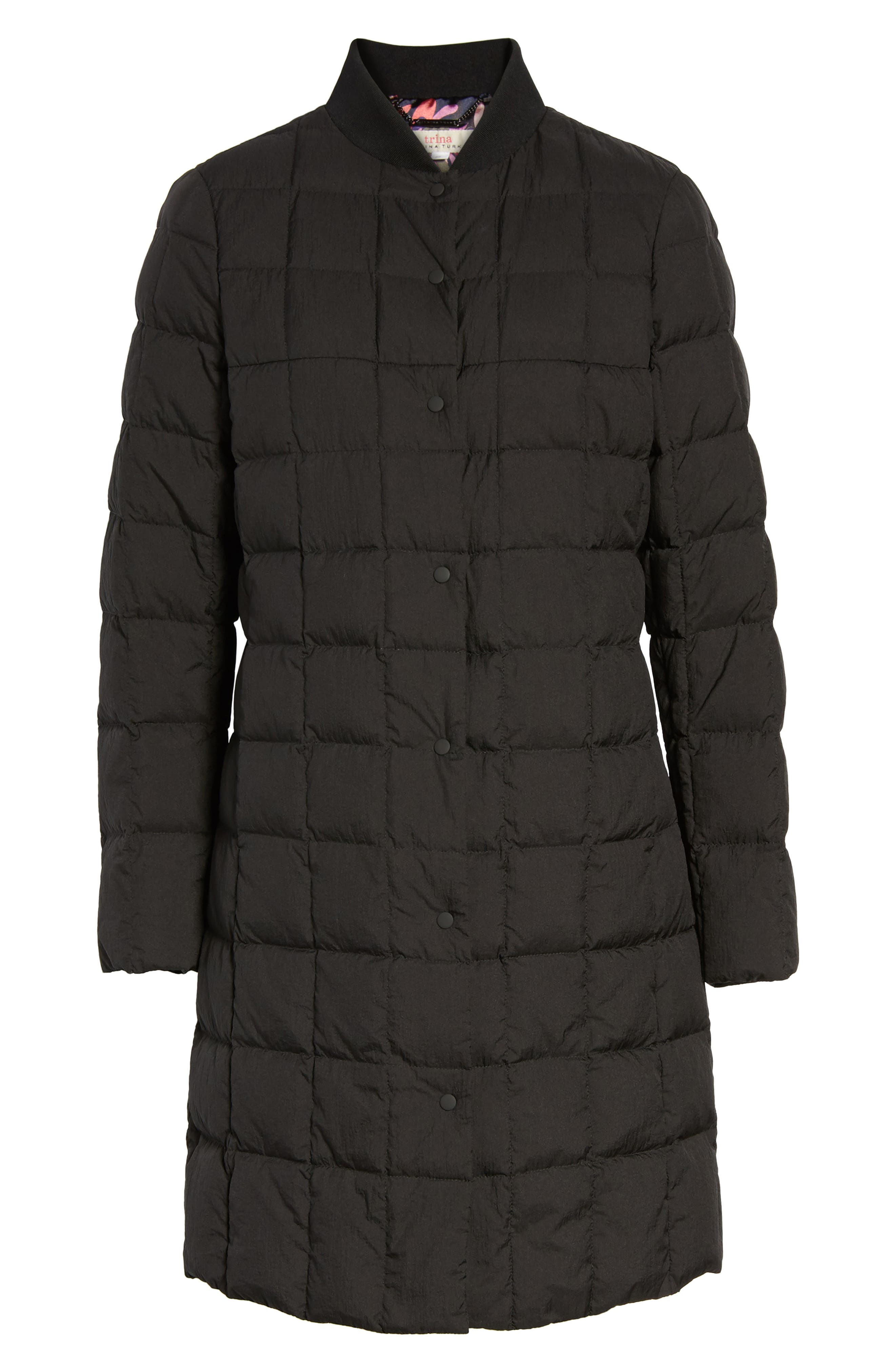 Kensley Lightweight Down Coat,                             Alternate thumbnail 5, color,                             001