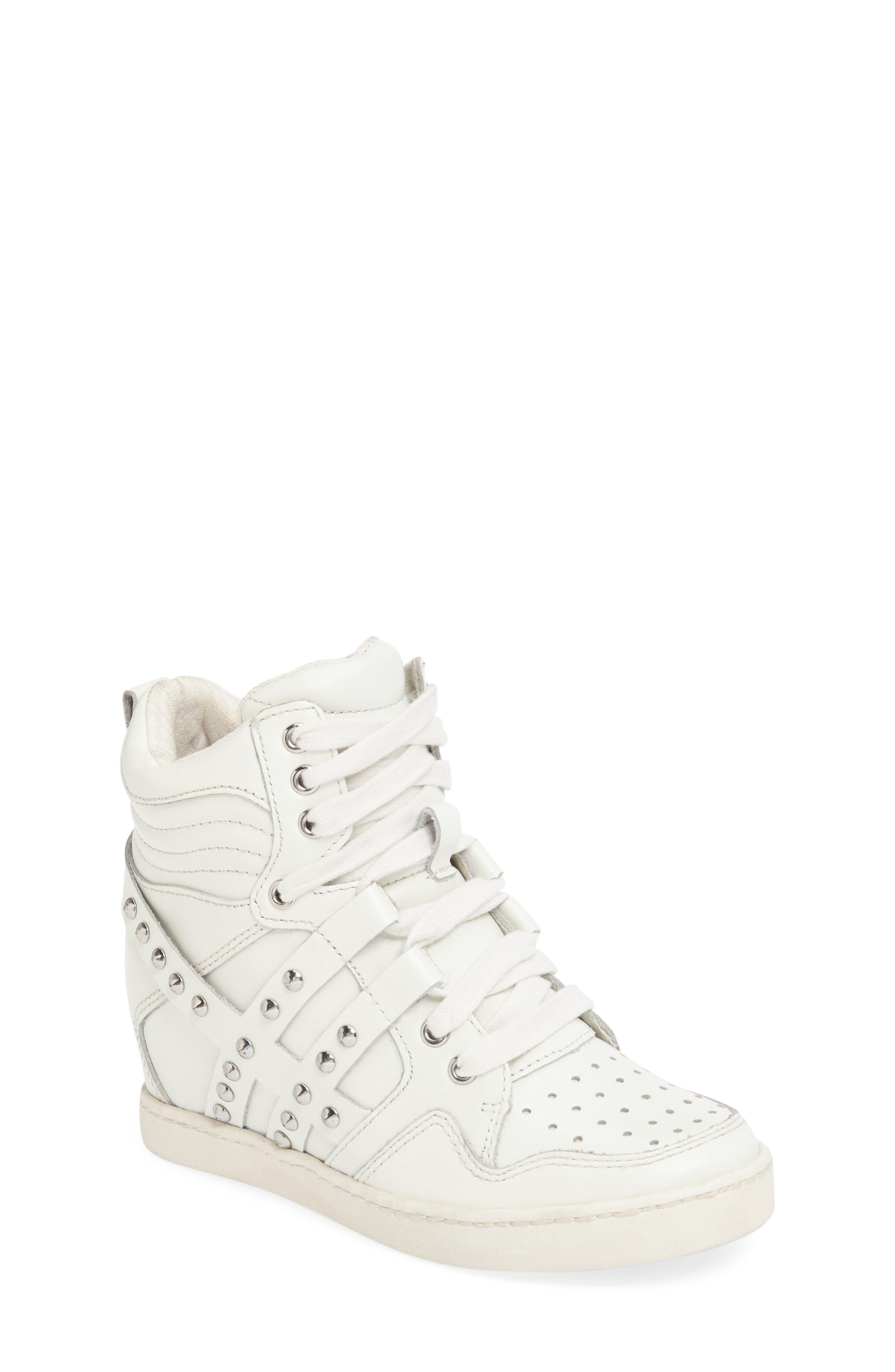Boogie Studs High Top Sneaker,                             Main thumbnail 1, color,                             100