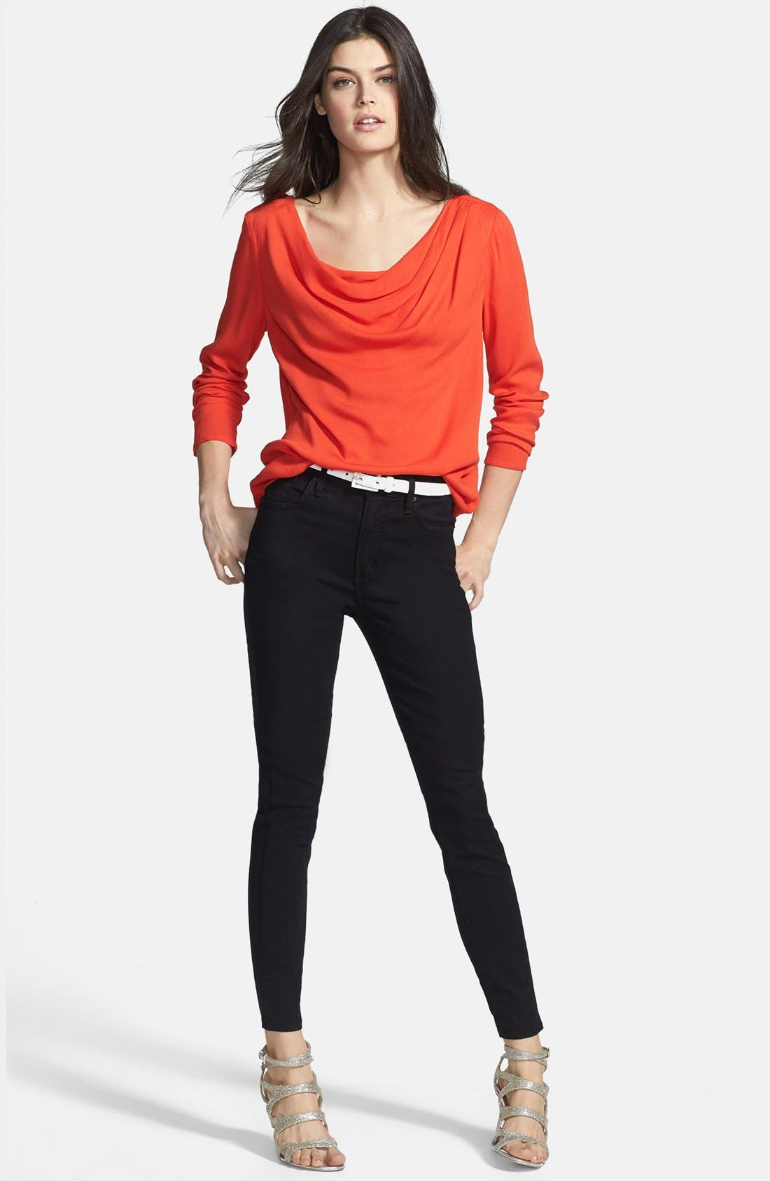 AGOLDE,                             A Gold E 'Sophie' High Rise Skinny Jeans,                             Alternate thumbnail 2, color,                             004
