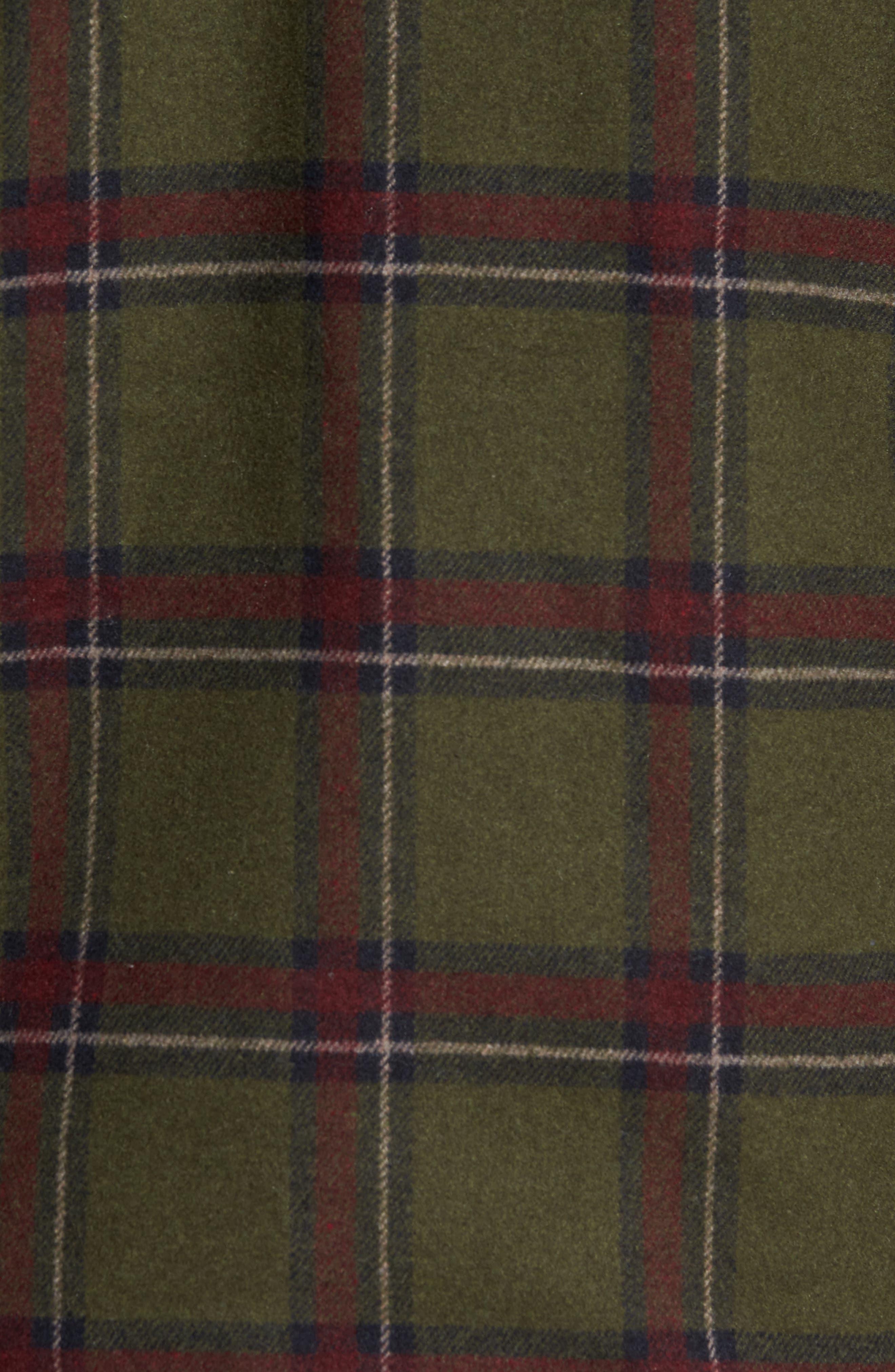 Tough Guy Plush Lined Flannel Shirt Jacket,                             Alternate thumbnail 12, color,