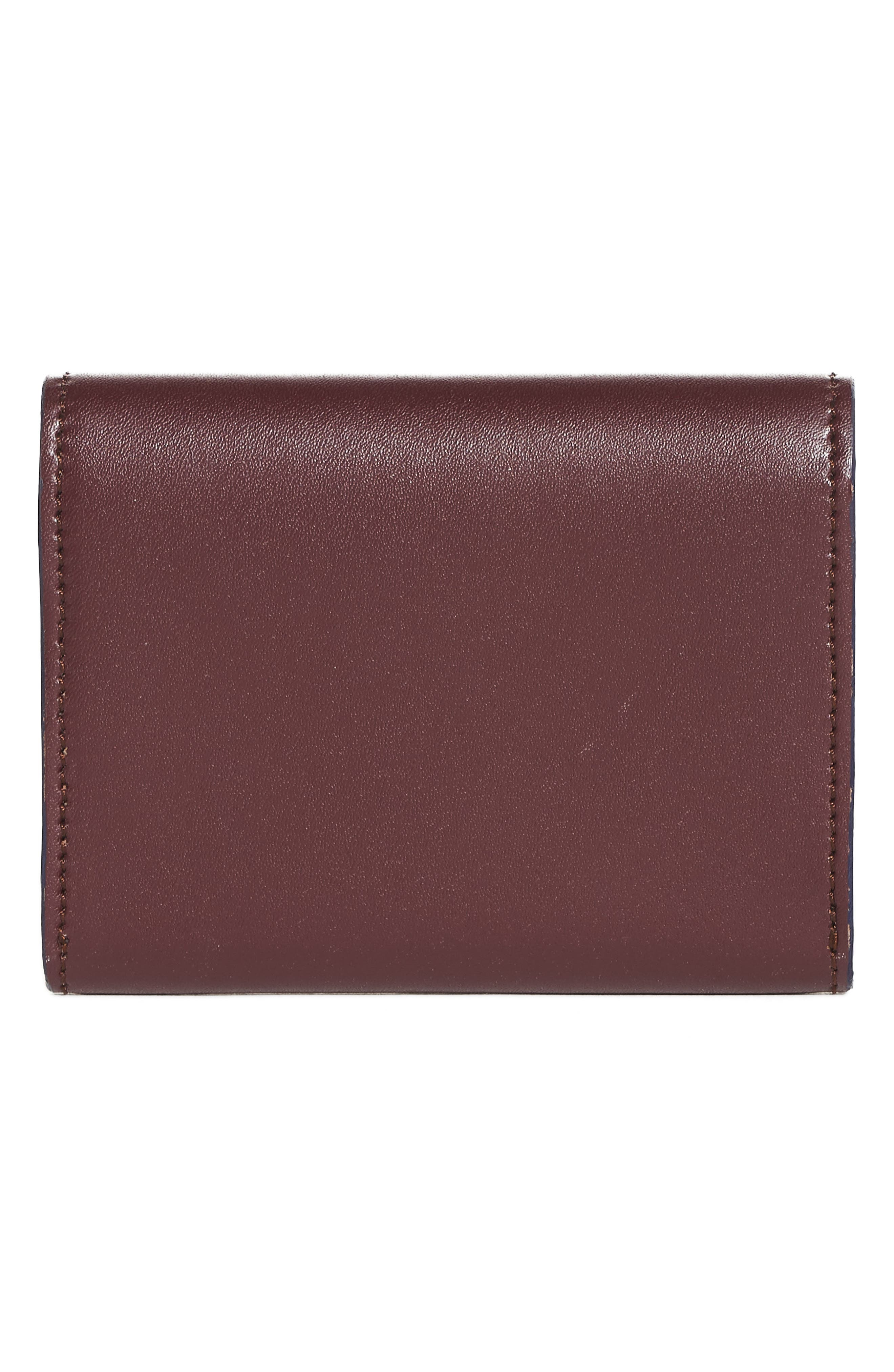 Leather Card Case,                             Alternate thumbnail 3, color,                             607
