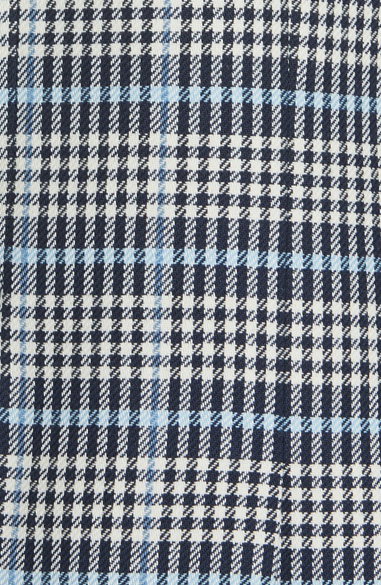 VERONICA BEARD,                             Caldwell Plaid Dickey Jacket,                             Alternate thumbnail 6, color,                             BLUE MULTI