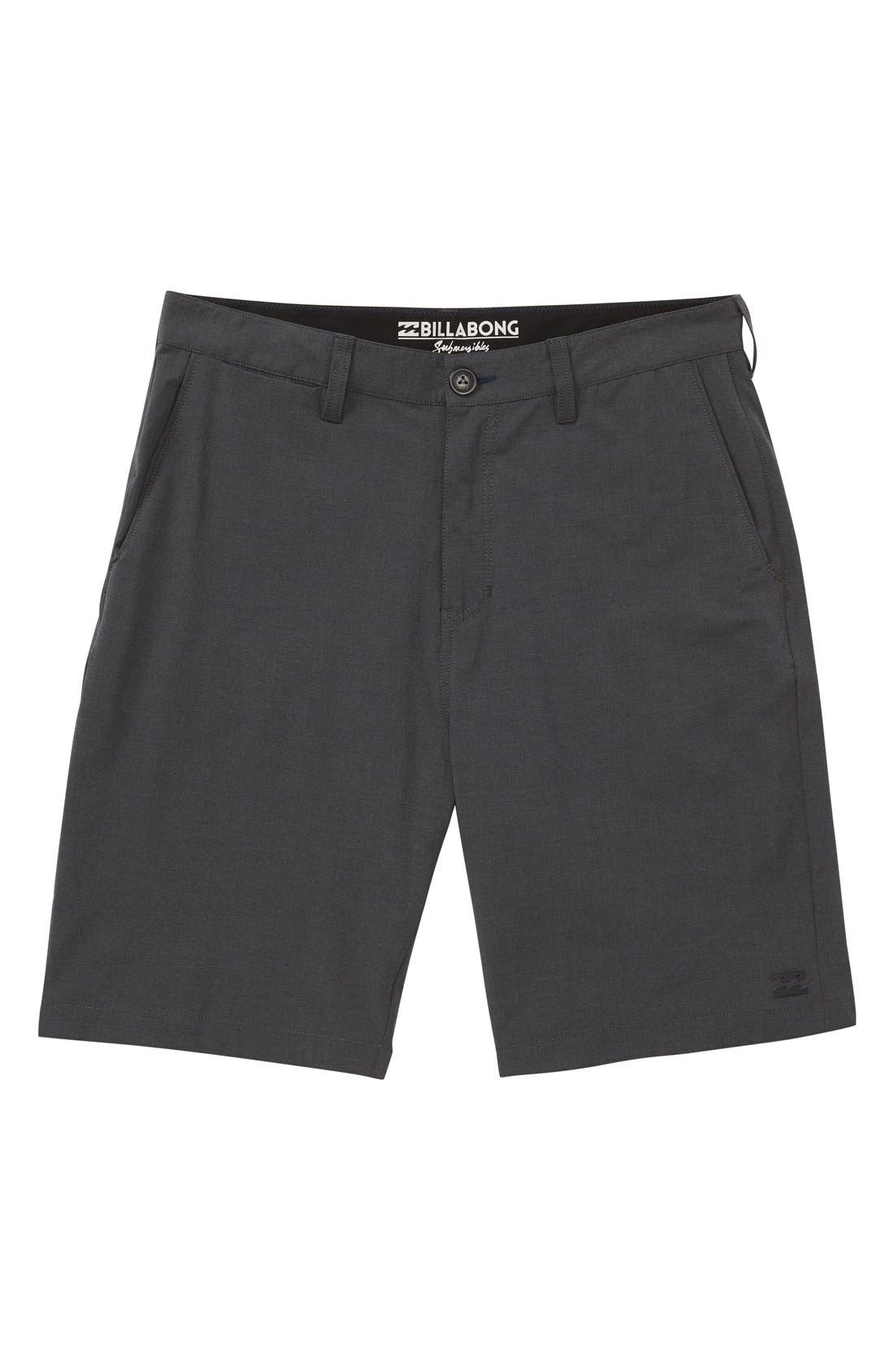 Crossfire X Submersible Hybrid Shorts,                             Main thumbnail 4, color,