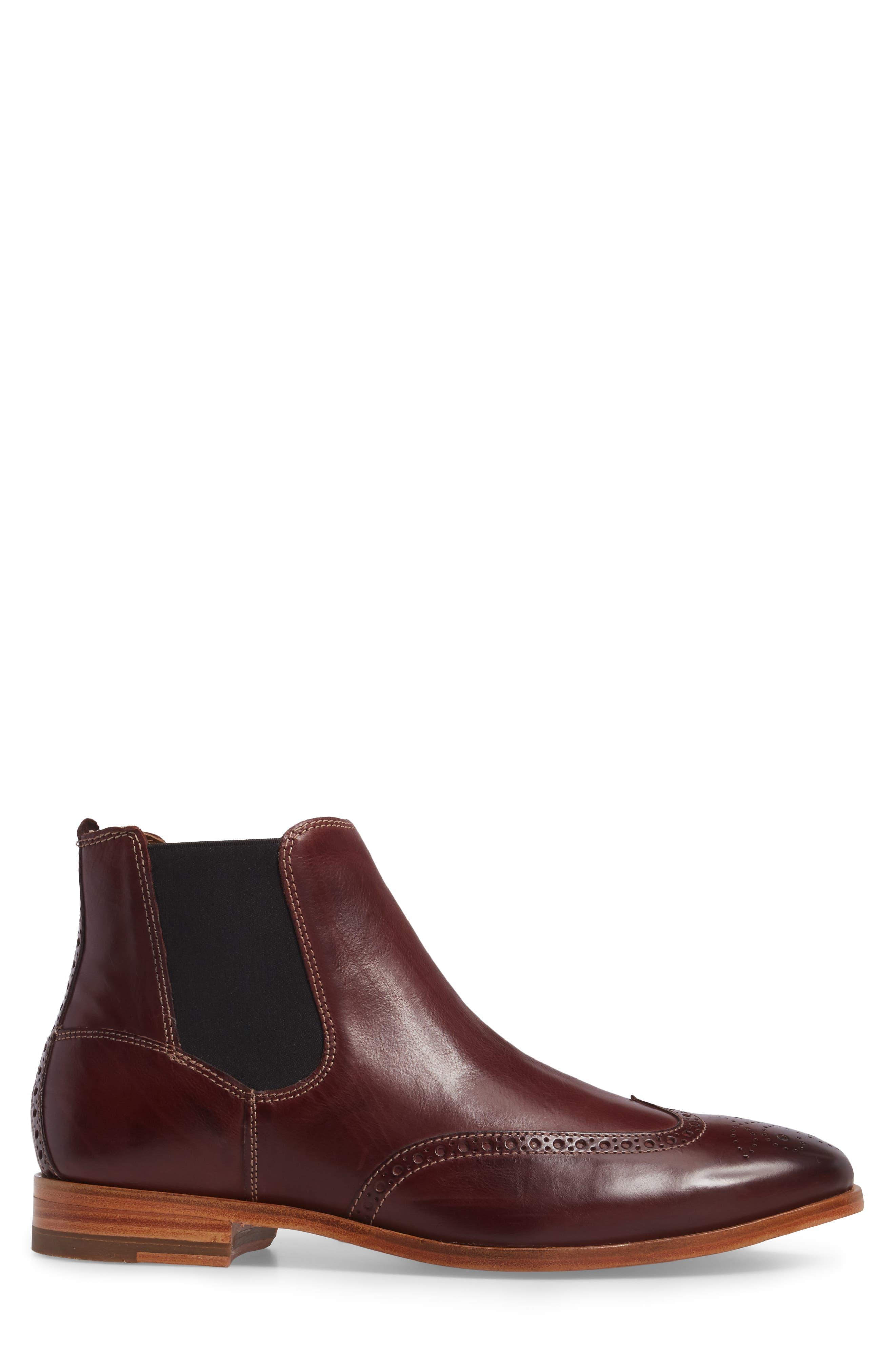 Graham Chelsea Boot,                             Alternate thumbnail 3, color,                             930