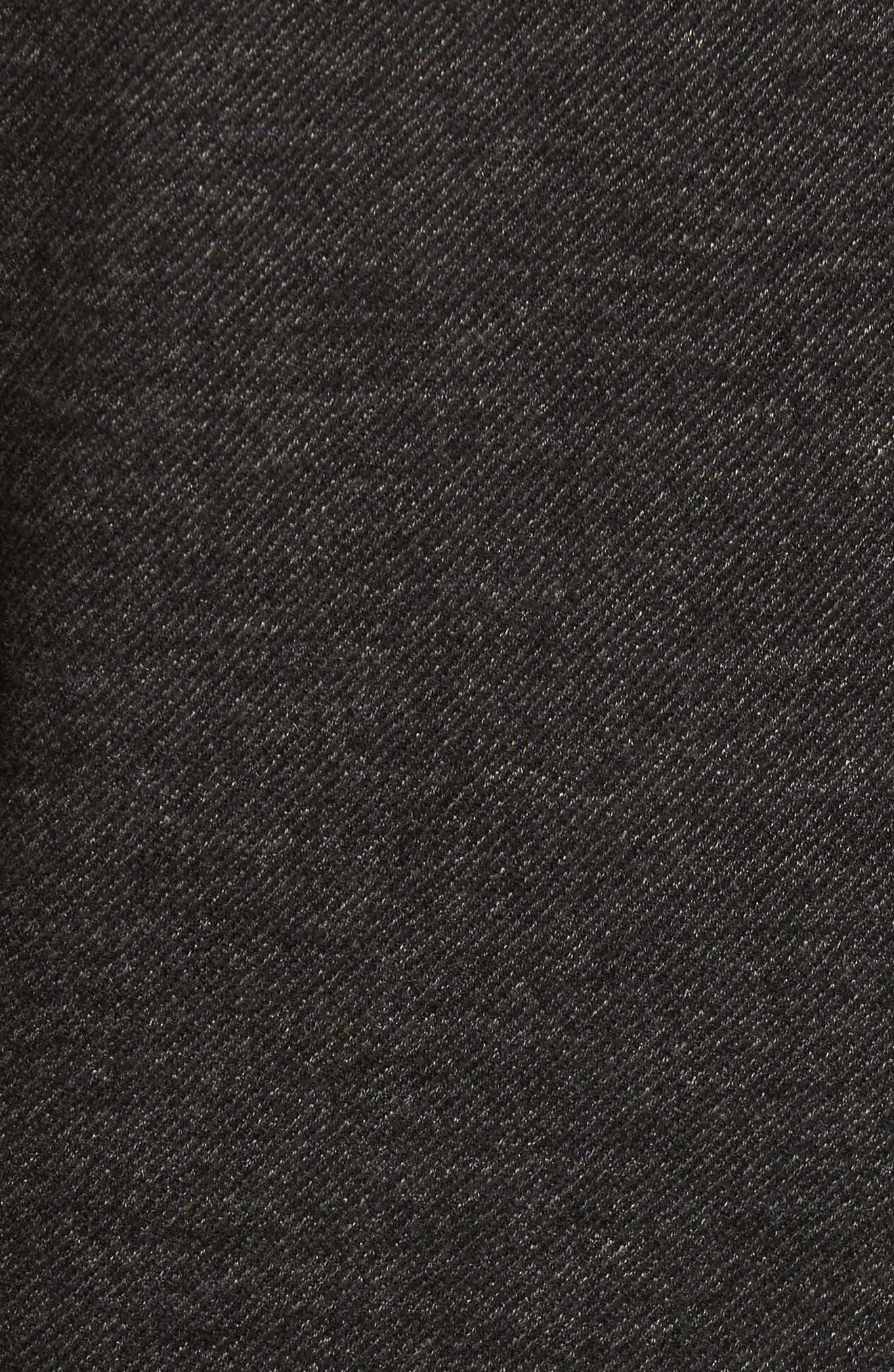 Raw Edge Cotton Blend Blazer,                             Alternate thumbnail 6, color,                             017