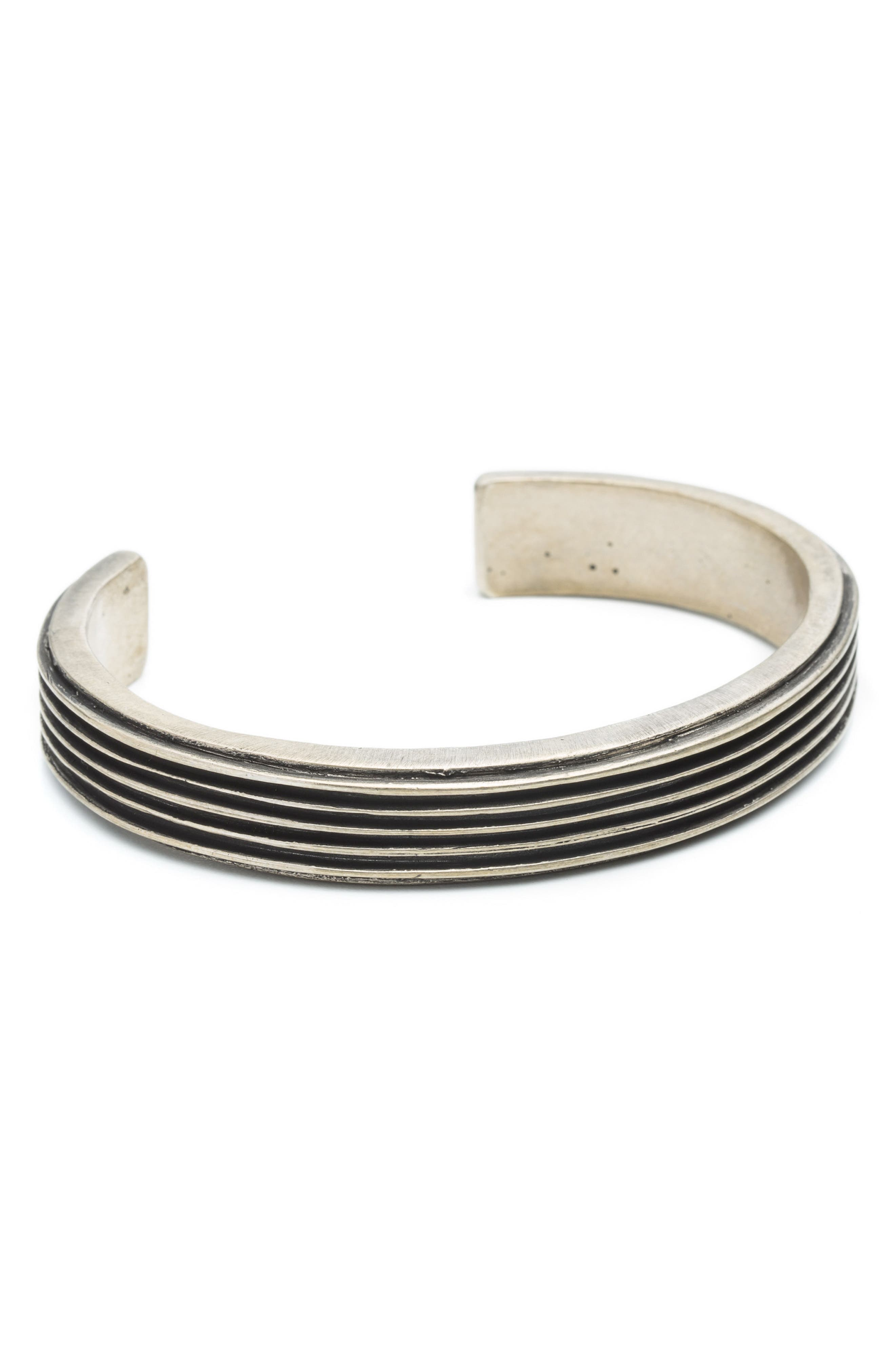 Ridge Cuff Bracelet,                             Main thumbnail 1, color,                             040