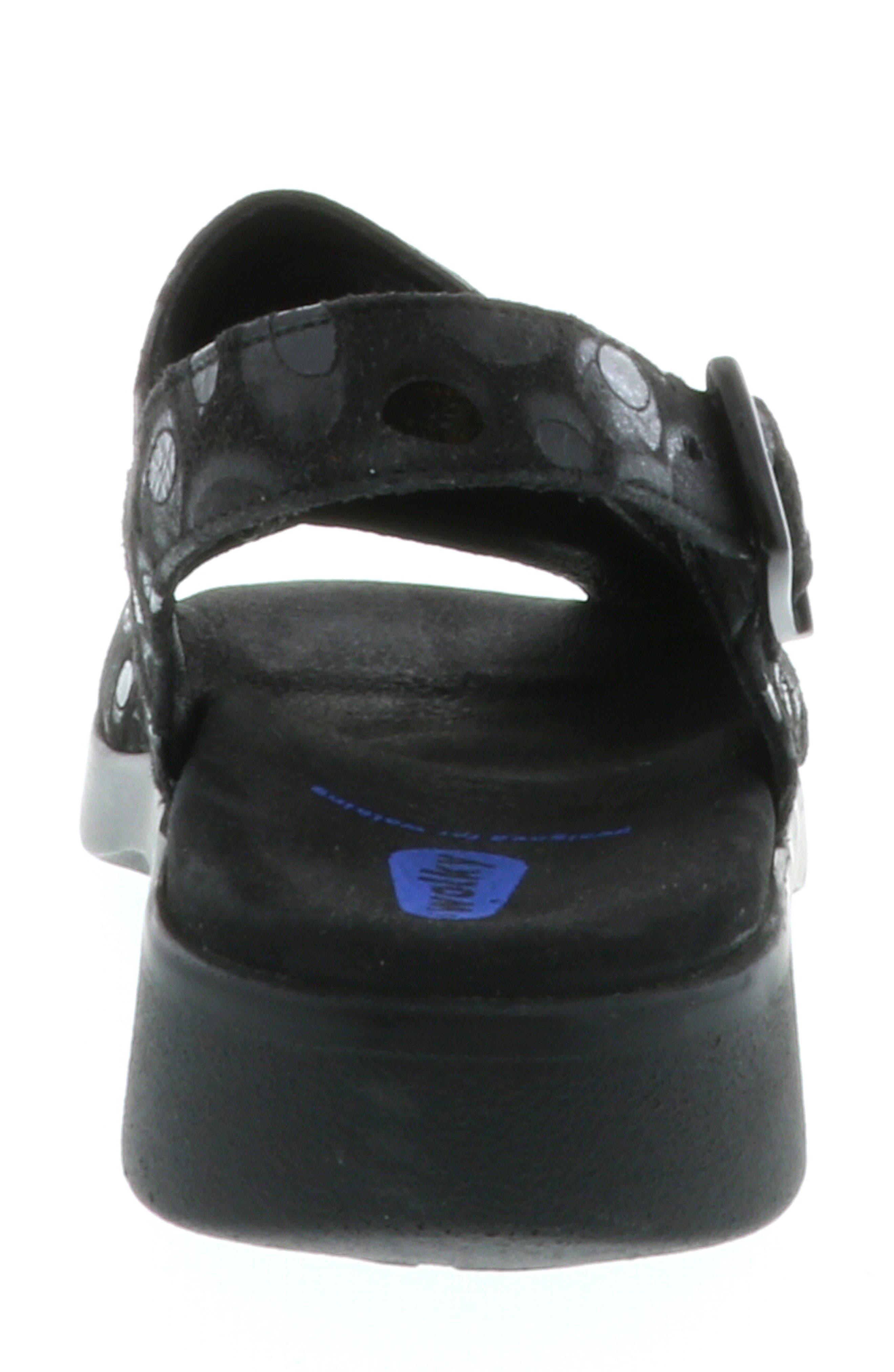 Nimes Sandal,                             Alternate thumbnail 5, color,                             BLACK
