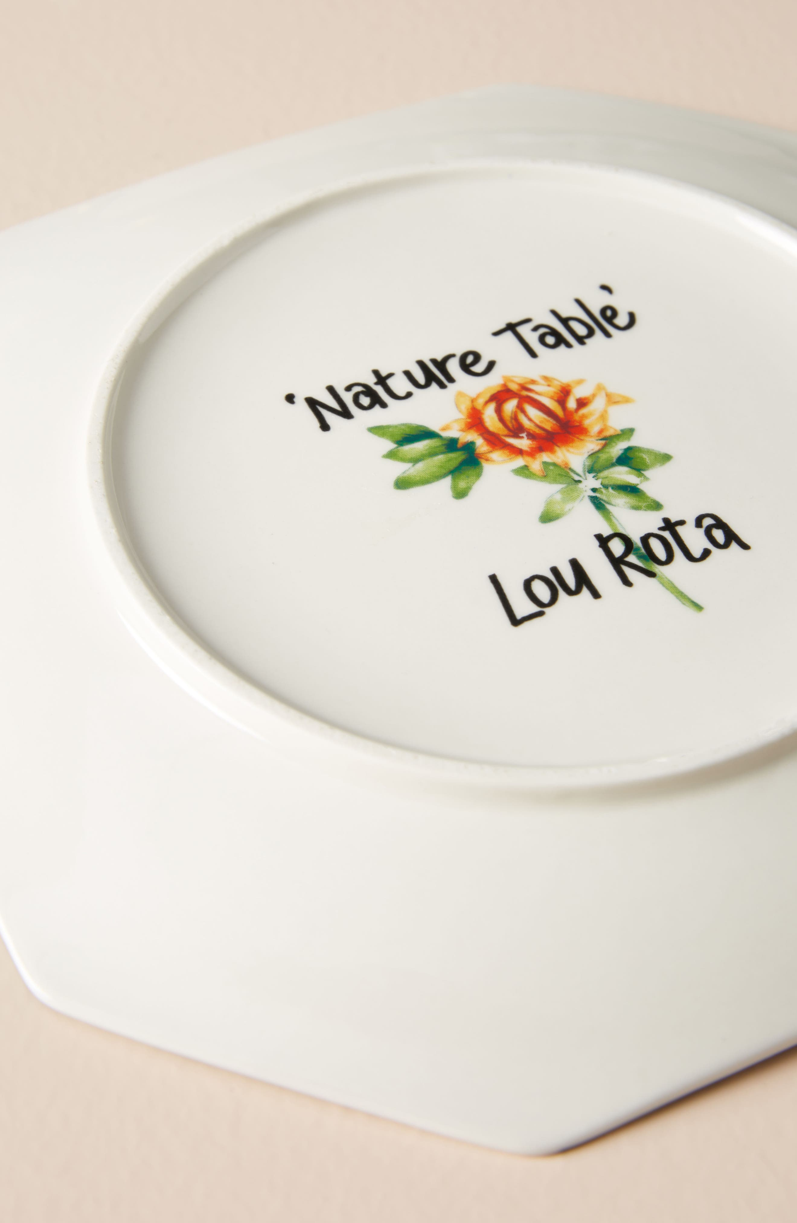 Nature Table Dessert Plate,                             Alternate thumbnail 3, color,                             MINT