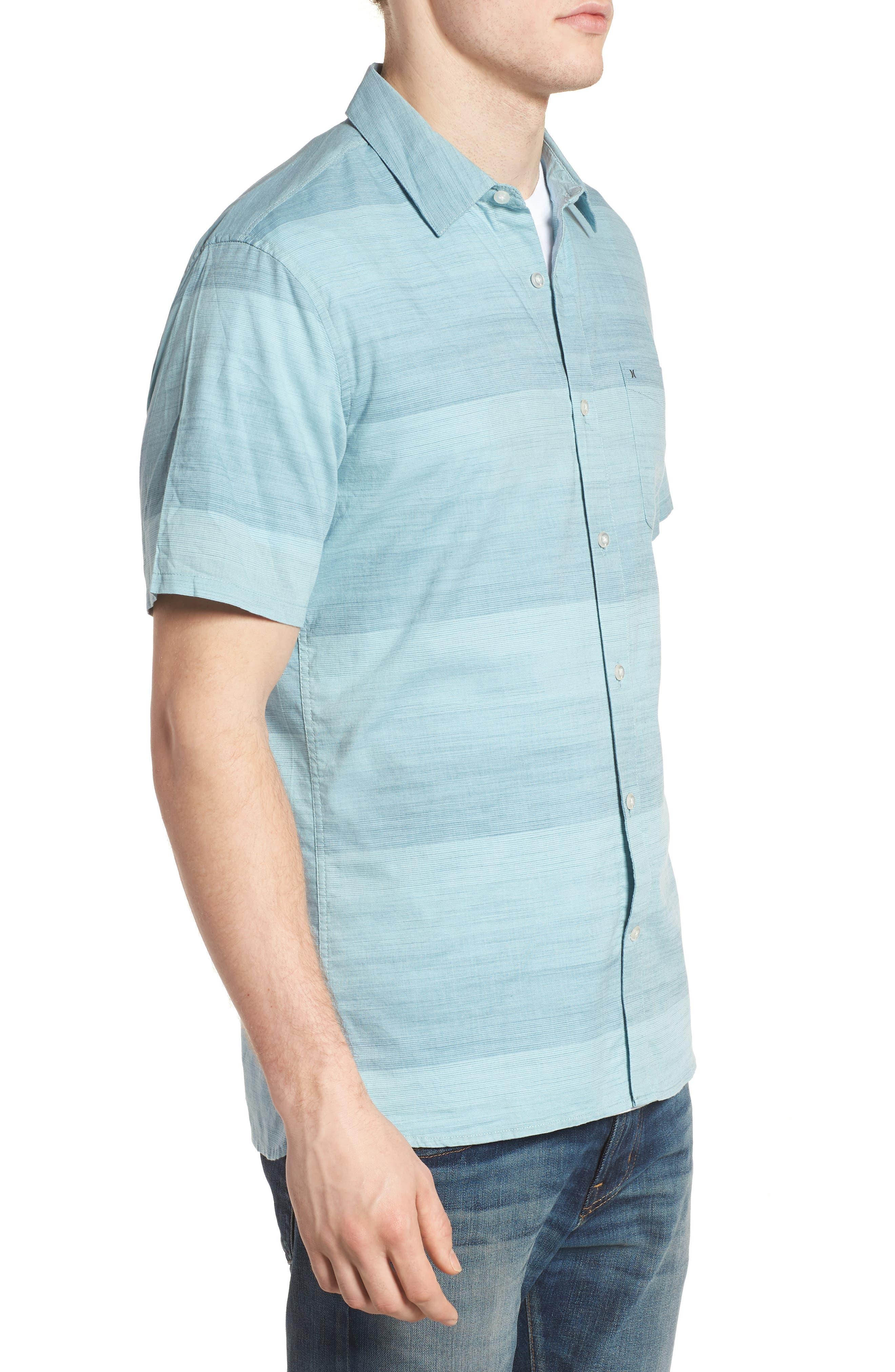 Morris Shirt,                             Alternate thumbnail 3, color,                             NOISE AQUA