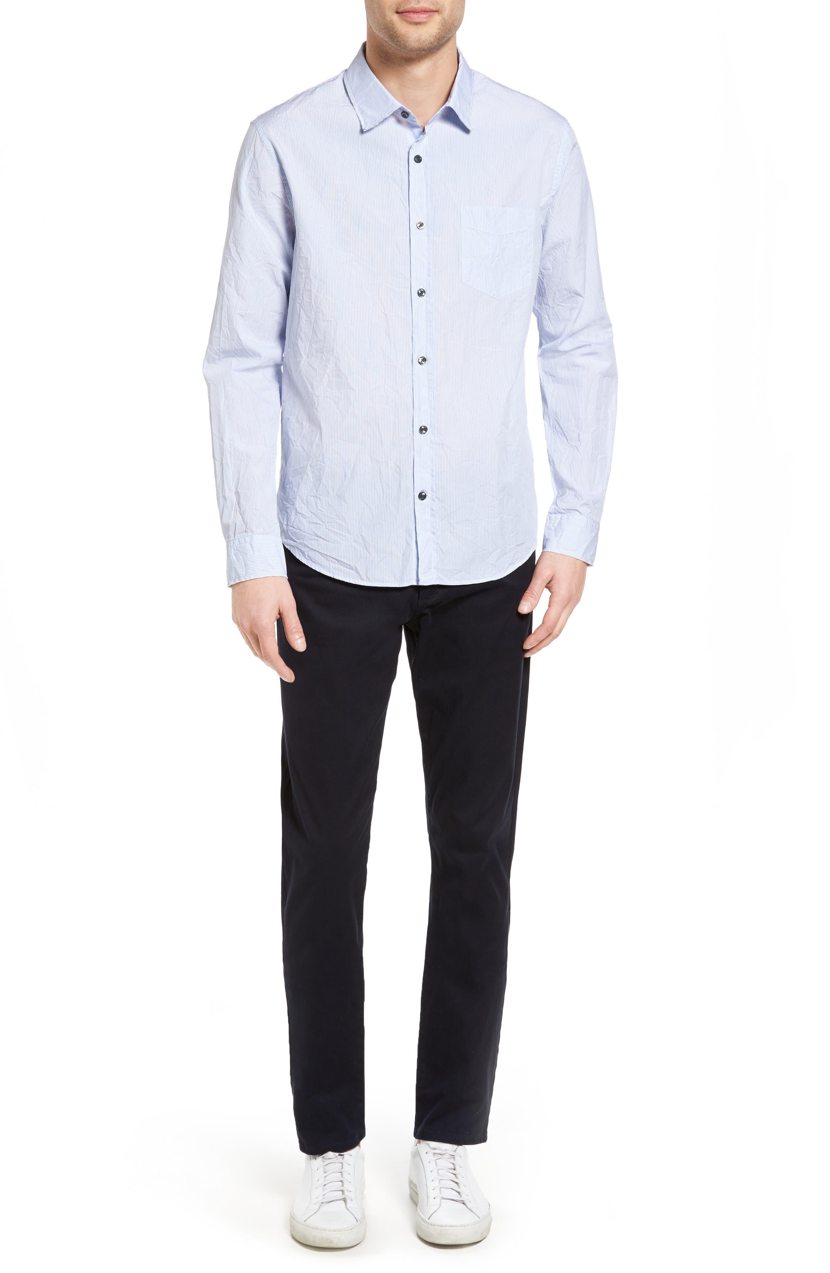 Soho Slim Fit Five-Pocket Pants,                             Alternate thumbnail 2, color,                             COASTAL