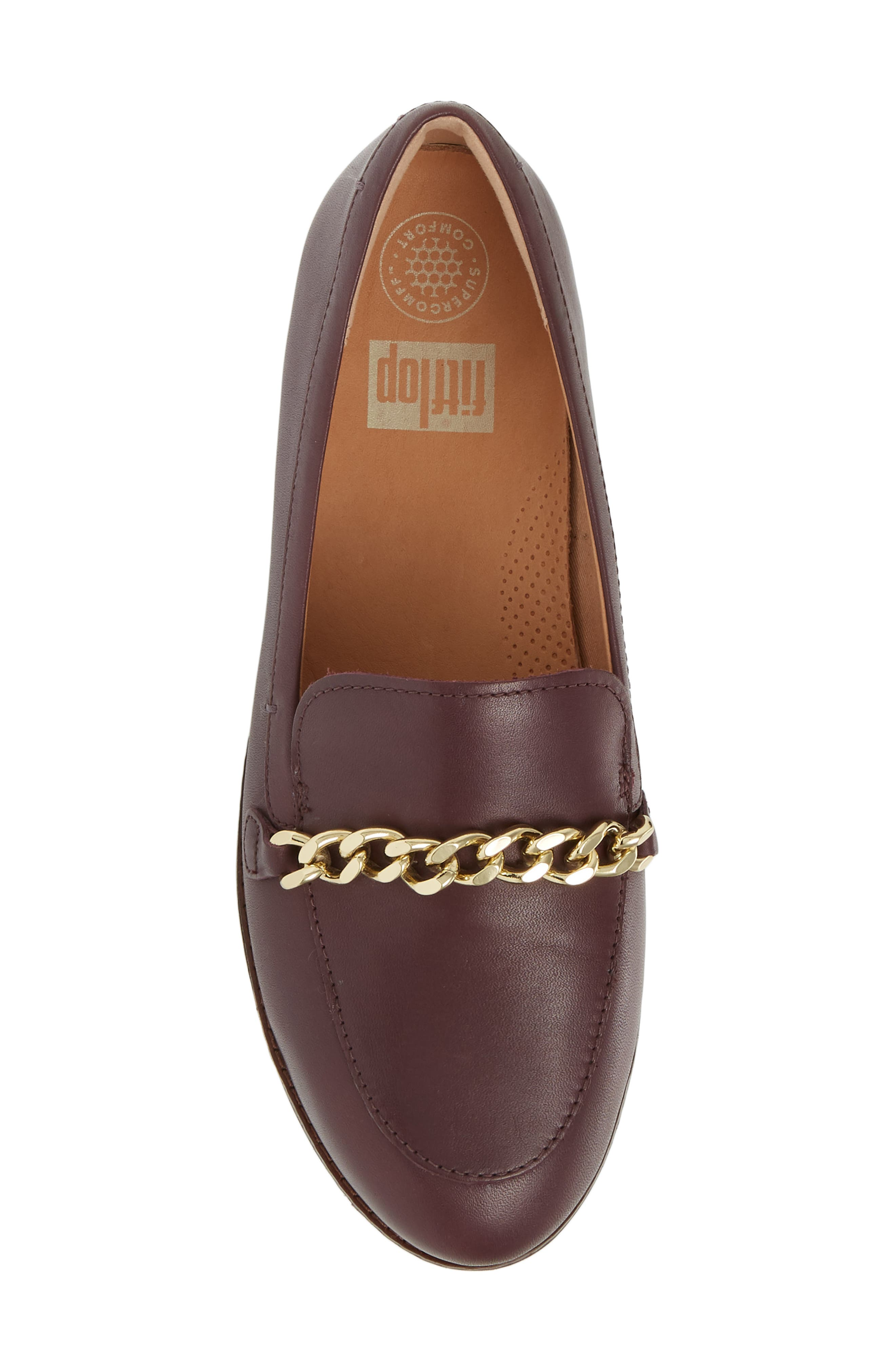 FITFLOP,                             Petrina Chain Loafer,                             Alternate thumbnail 5, color,                             547