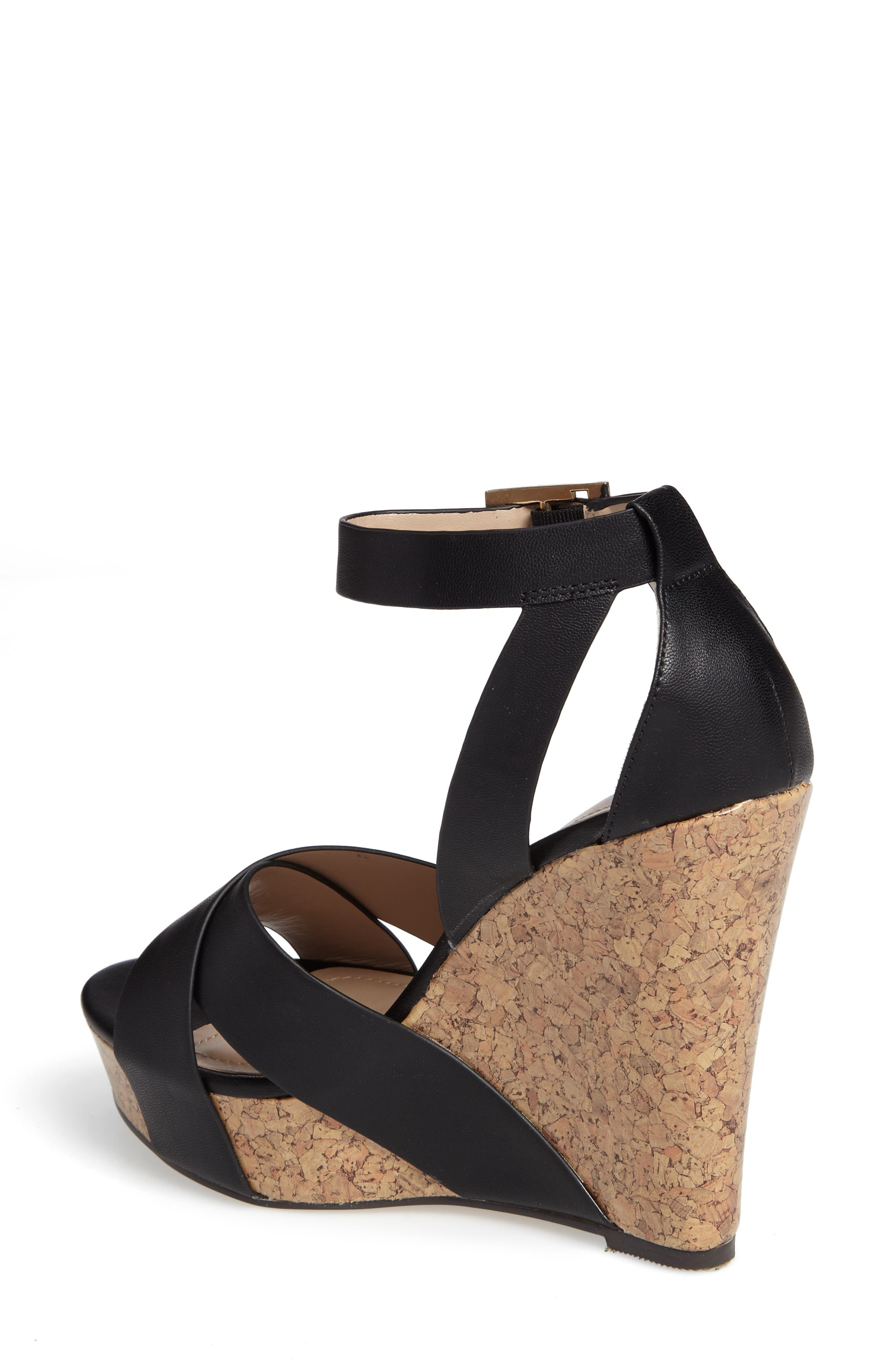 Amsterdam Platform Wedge Sandal,                             Alternate thumbnail 4, color,