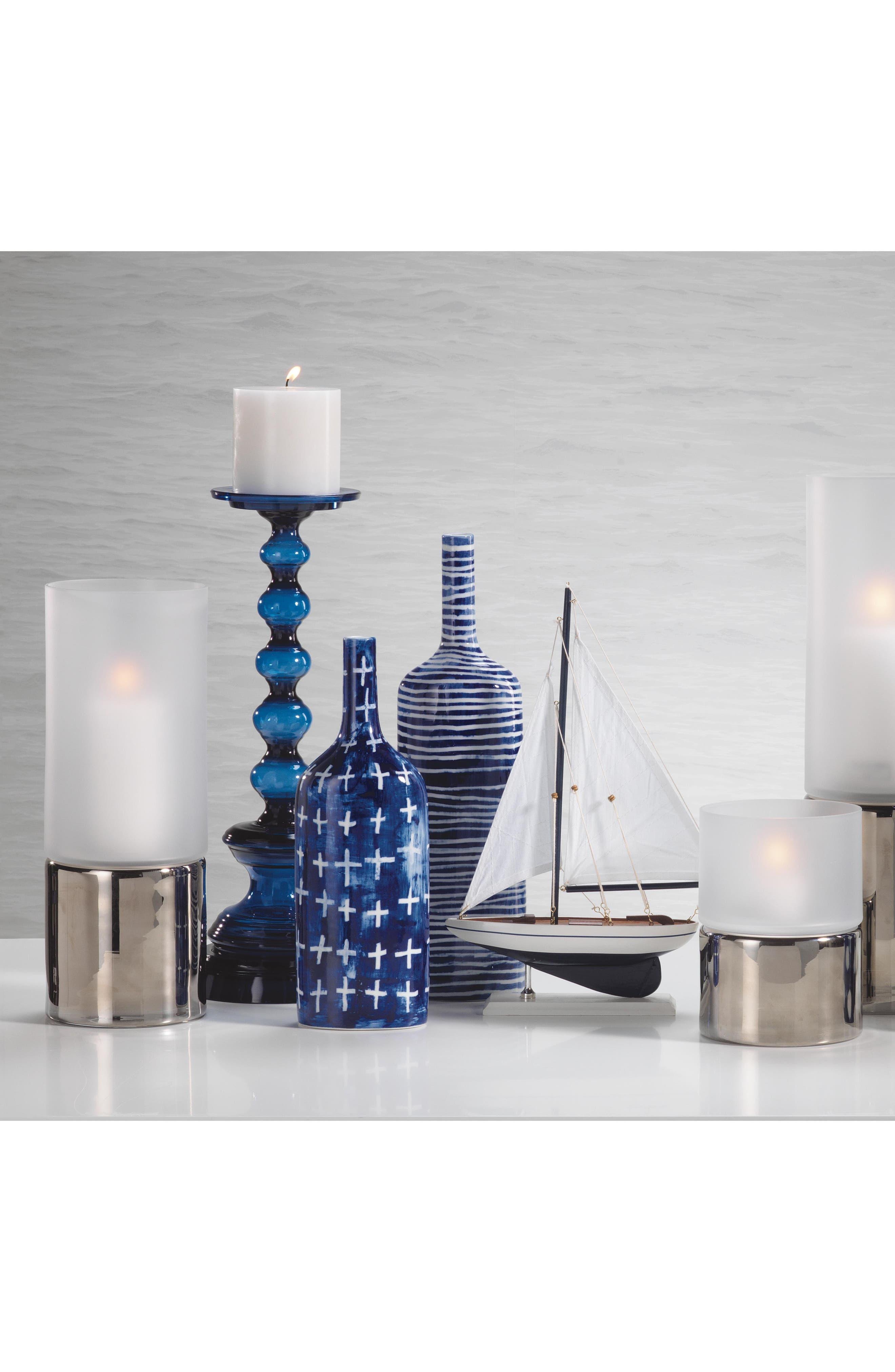 Yahto Decorative Ceramic Bottle,                             Alternate thumbnail 2, color,