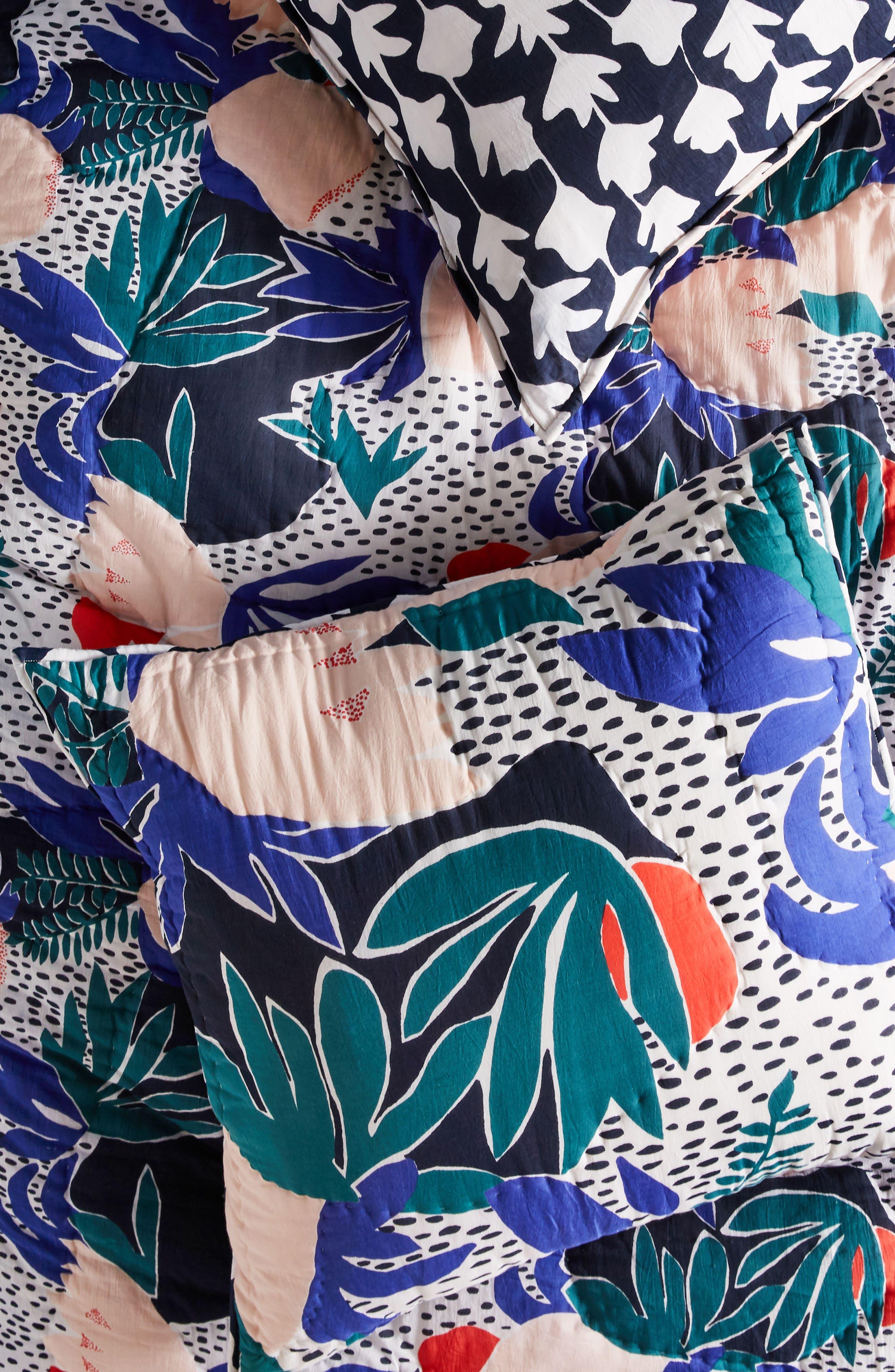 Cassie Byrnes Melbourne Euro Sham,                             Main thumbnail 1, color,                             400