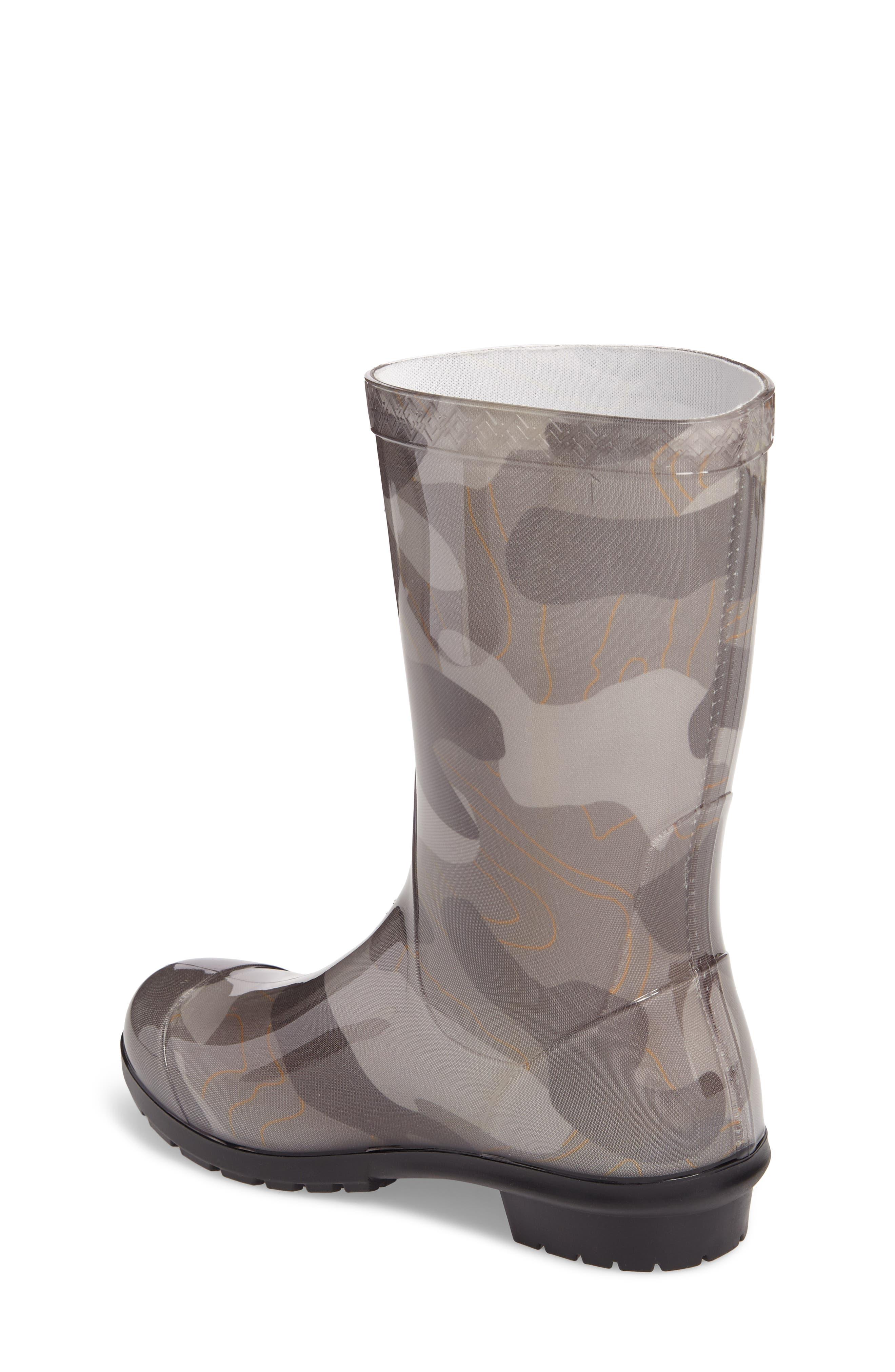 Rahjee Camo Waterproof Rain Boot,                             Alternate thumbnail 2, color,                             020