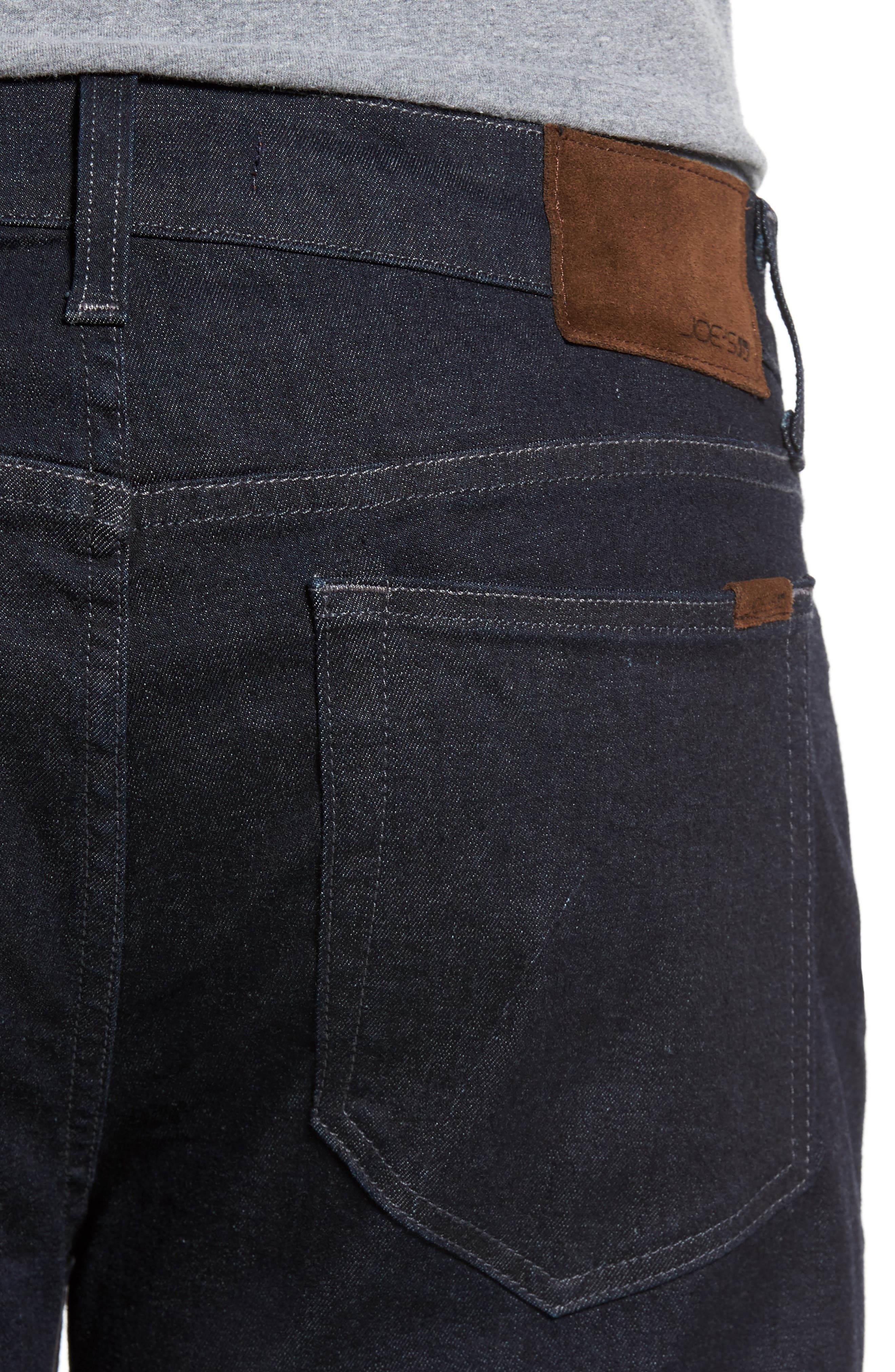 Classic Straight Leg Jeans,                             Alternate thumbnail 4, color,                             400