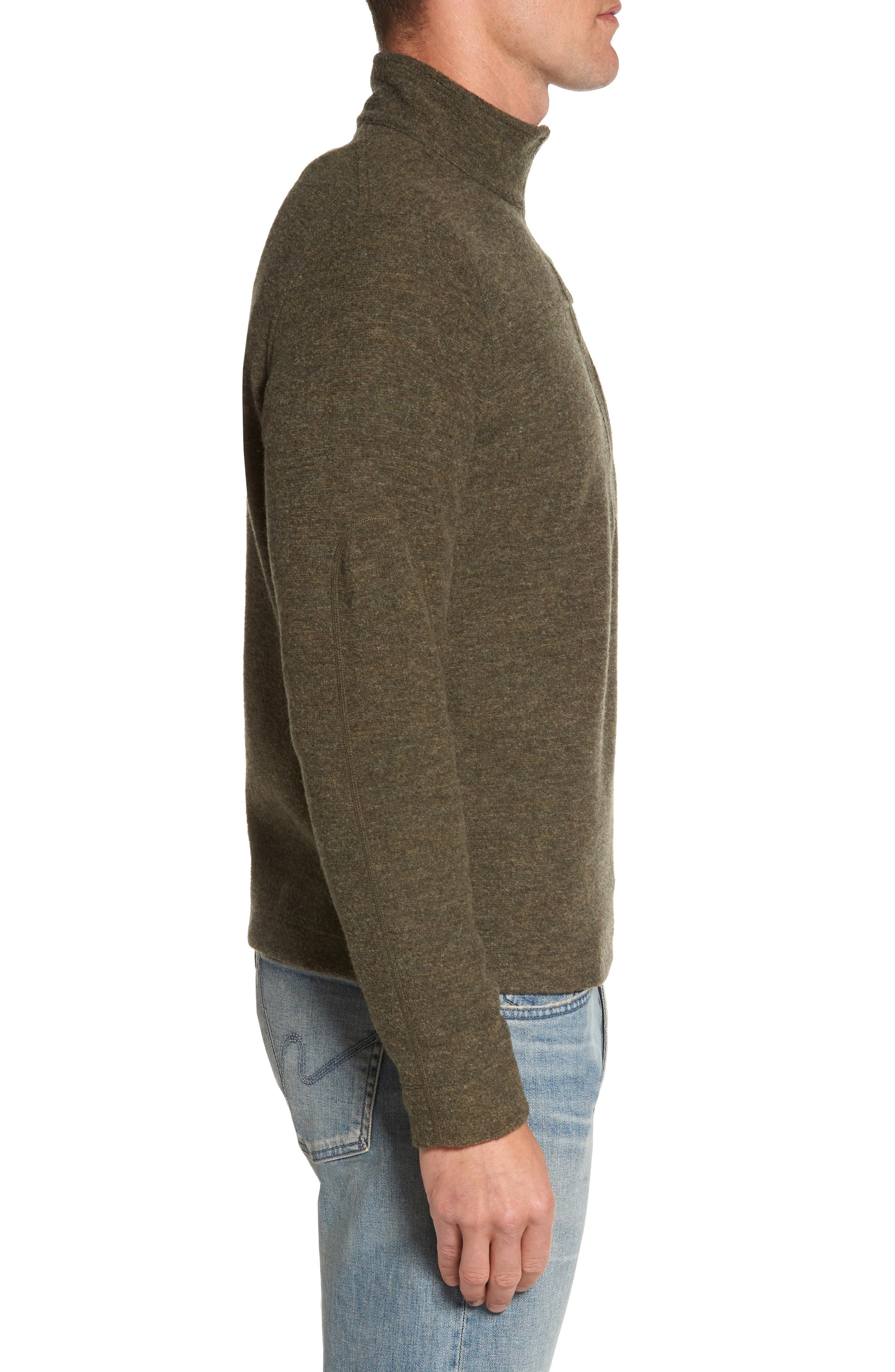 Scout Jura Merino Wool Blend Quarter Zip Pullover,                             Alternate thumbnail 13, color,