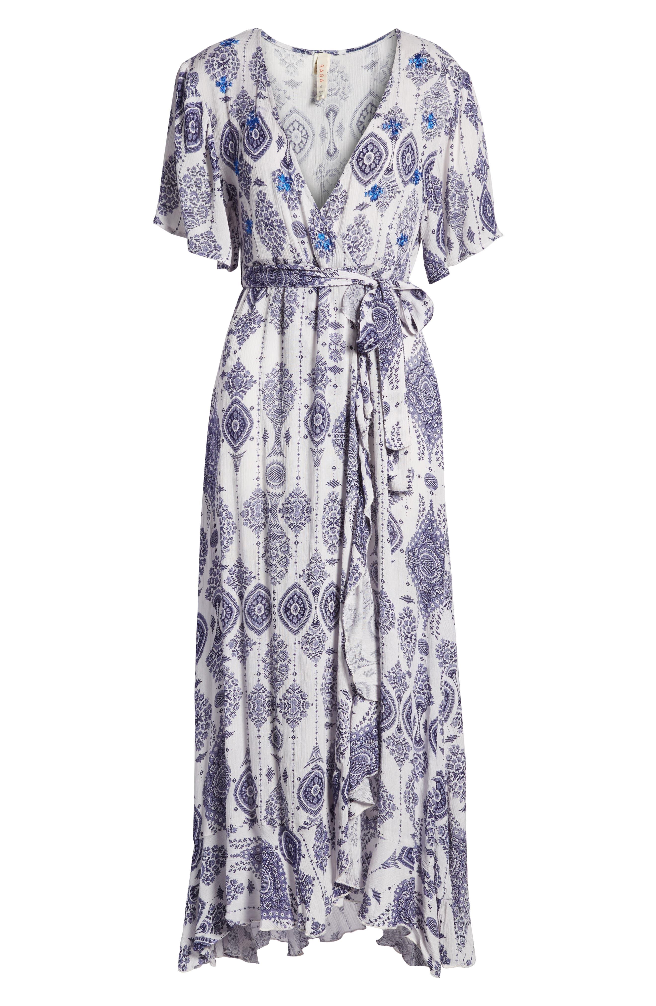 Andrea Maxi Dress,                             Alternate thumbnail 7, color,                             400