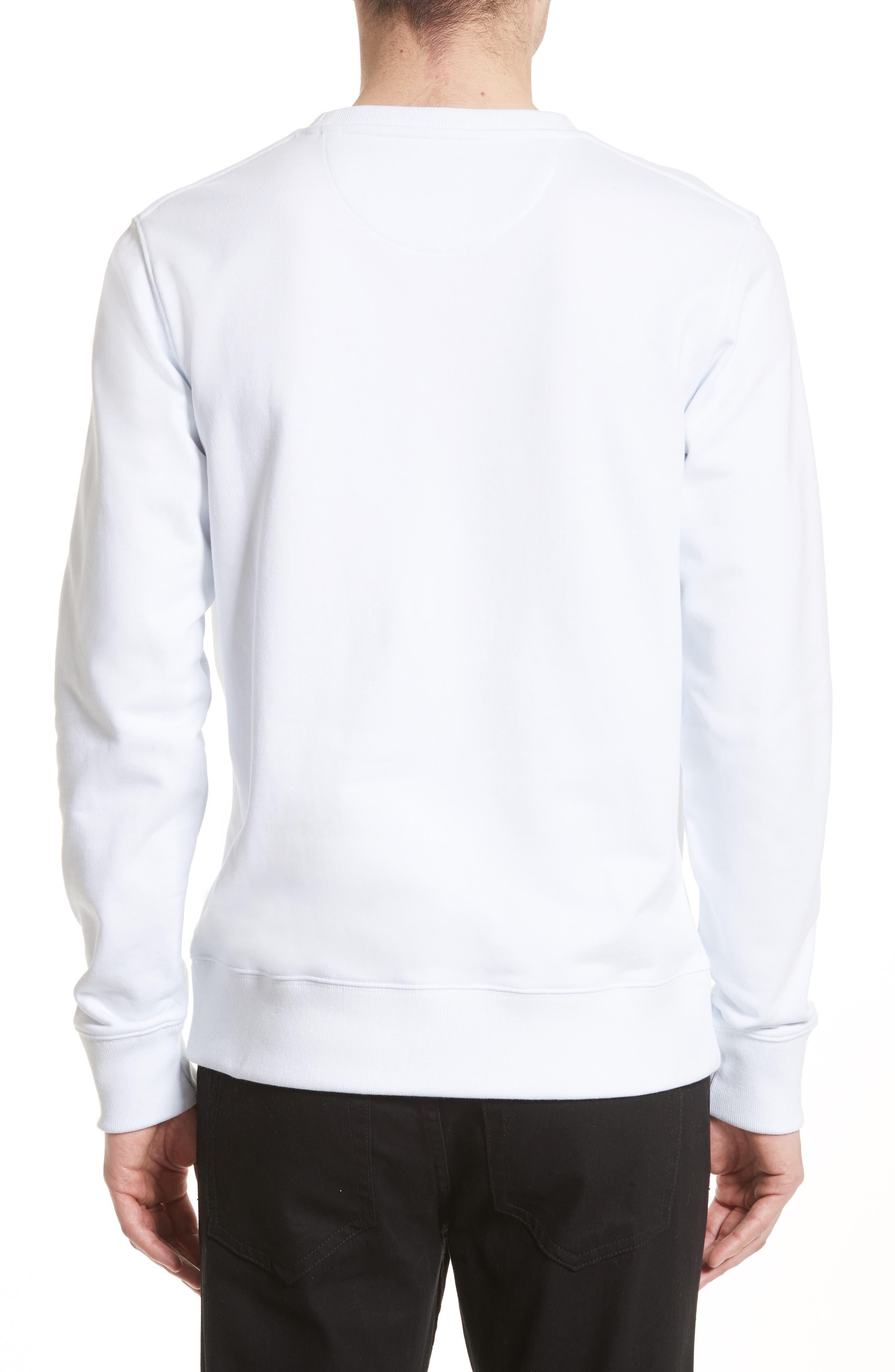 Bowery Grid Logo Sweatshirt,                             Alternate thumbnail 2, color,                             110