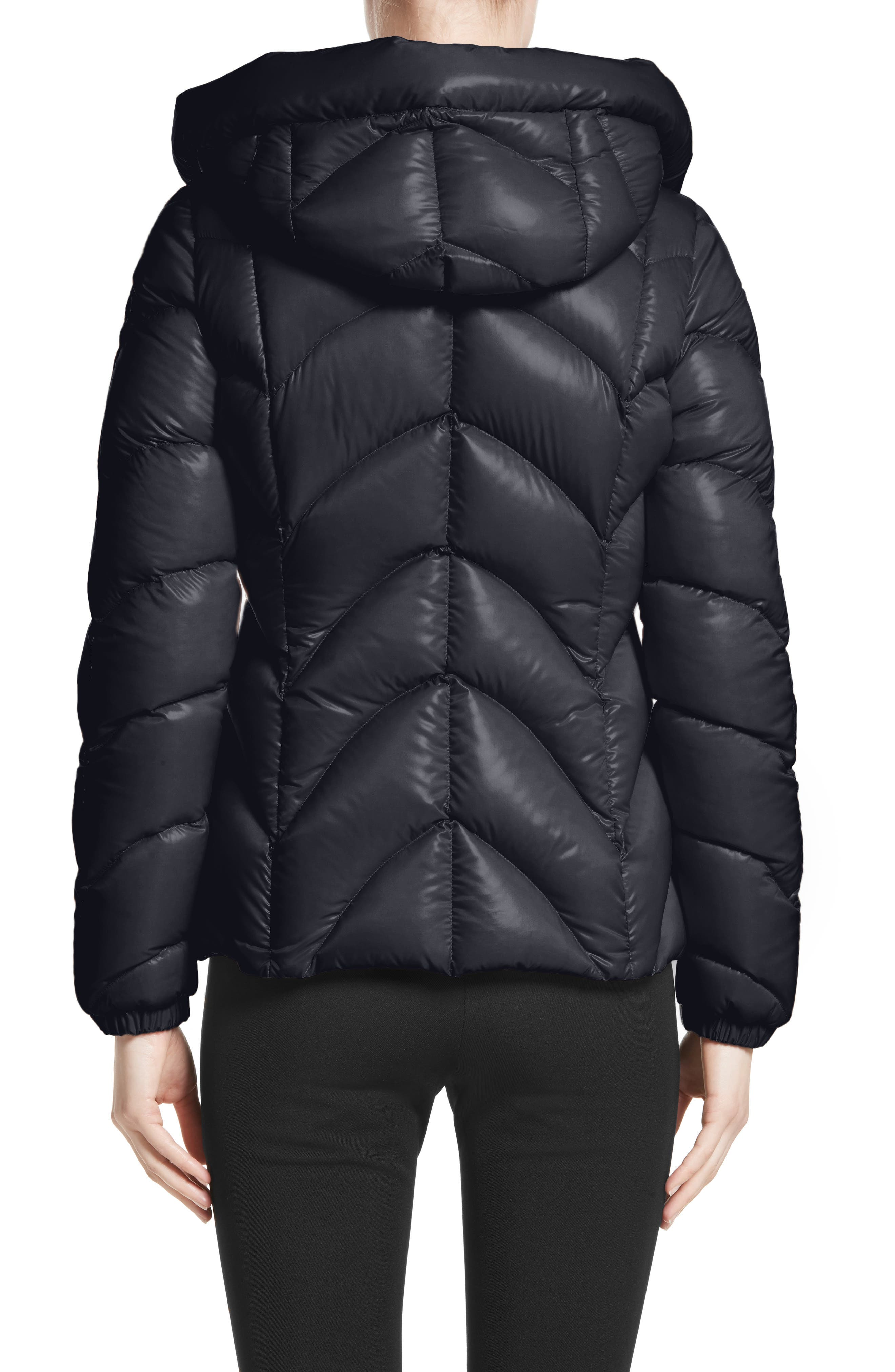 Akebia Quilted Down Jacket,                             Alternate thumbnail 2, color,                             NAVY