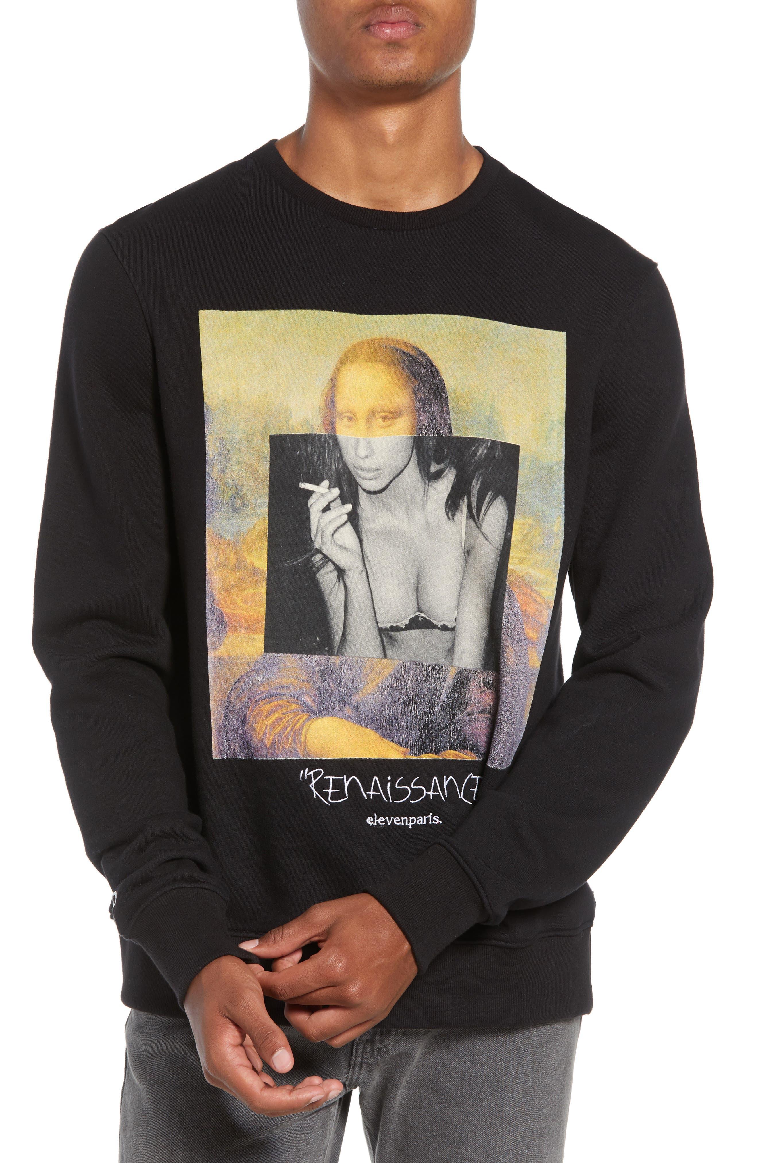 ELEVENPARIS,                             Renaissance Sweatshirt,                             Main thumbnail 1, color,                             002