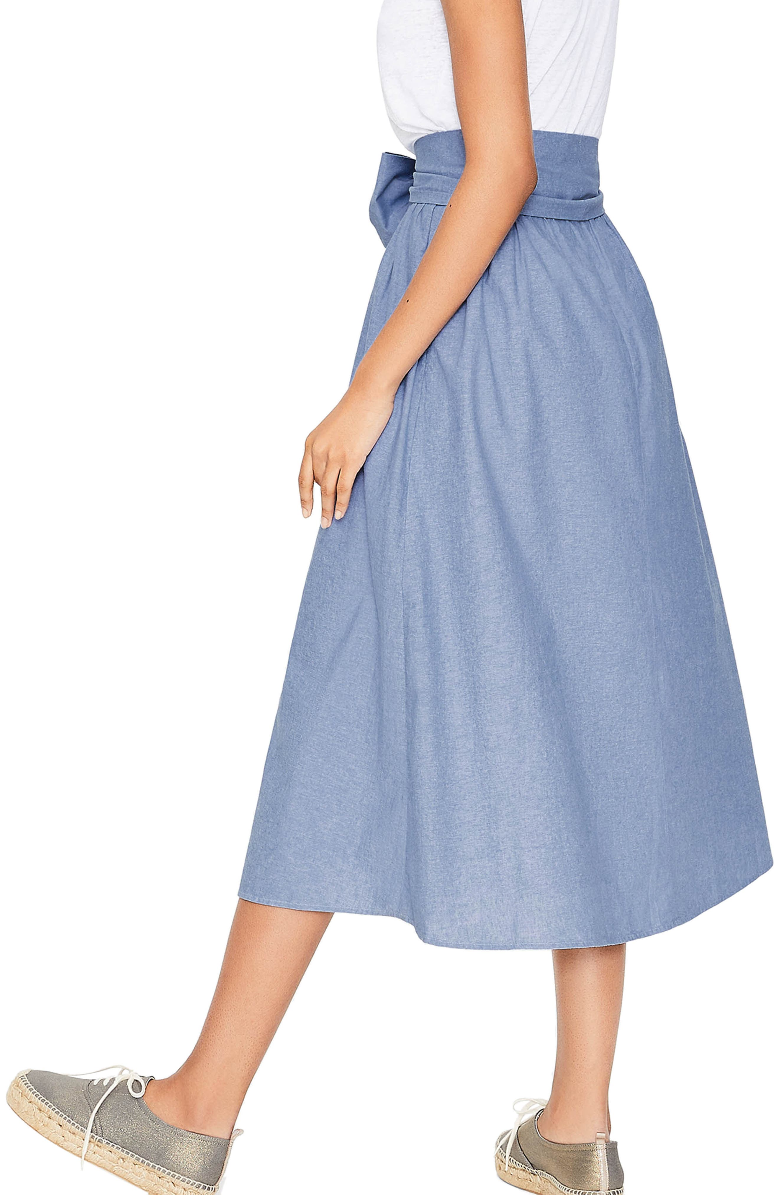 Kiera Midi Skirt,                             Alternate thumbnail 2, color,                             469