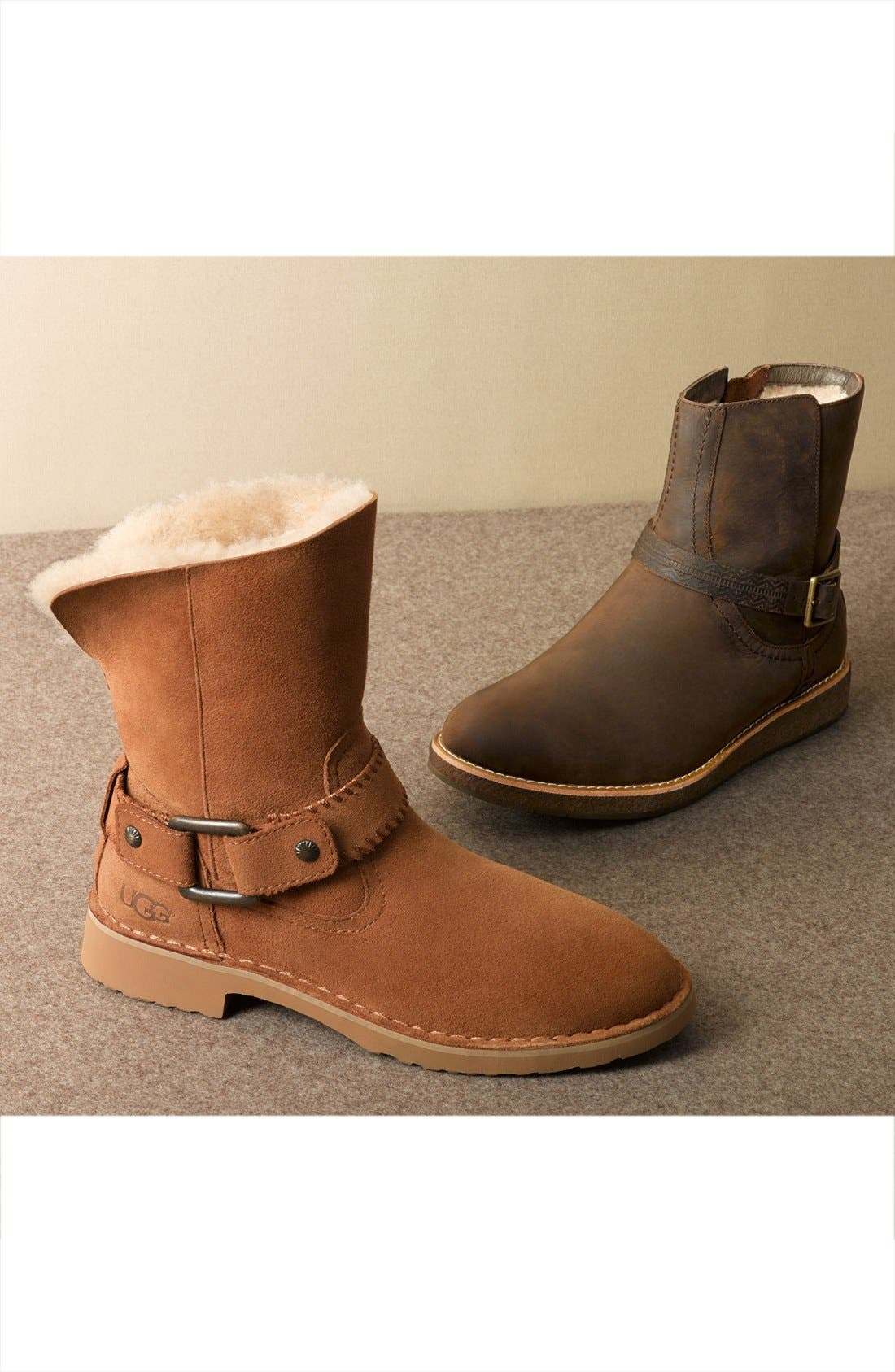 Cedric Water Resistant Boot,                             Alternate thumbnail 6, color,                             001