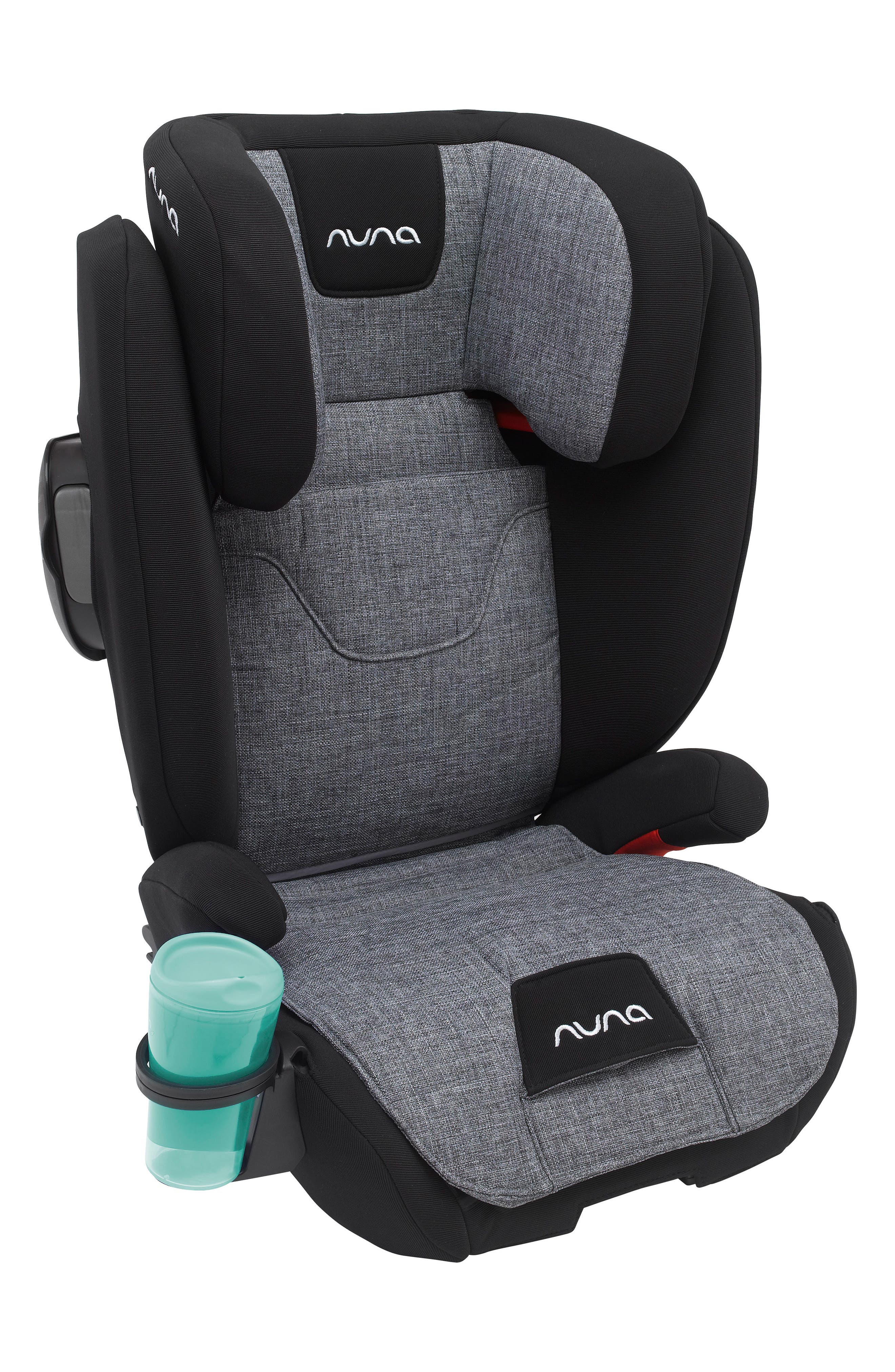 AACE<sup>™</sup> Booster Car Seat,                             Alternate thumbnail 8, color,                             CHARCOAL