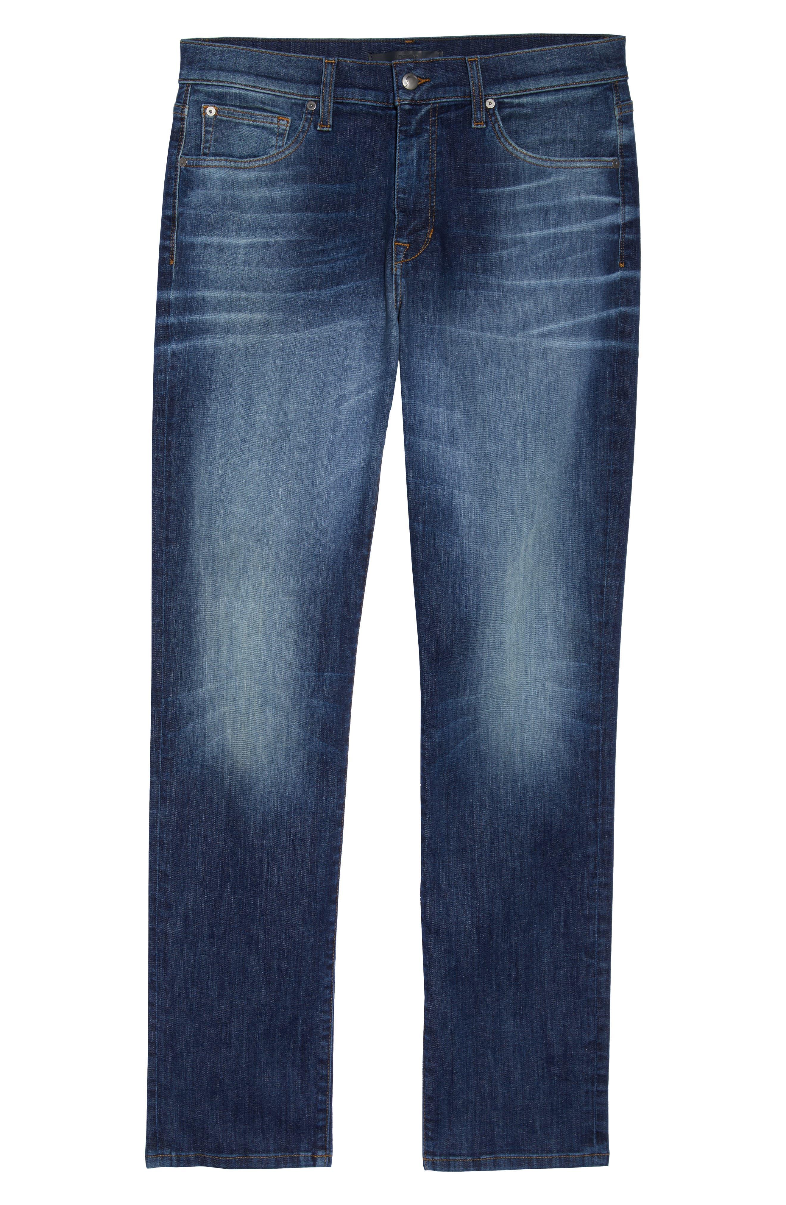 JOE'S,                             Brixton Slim Straight Leg Jeans,                             Alternate thumbnail 4, color,                             HOYT