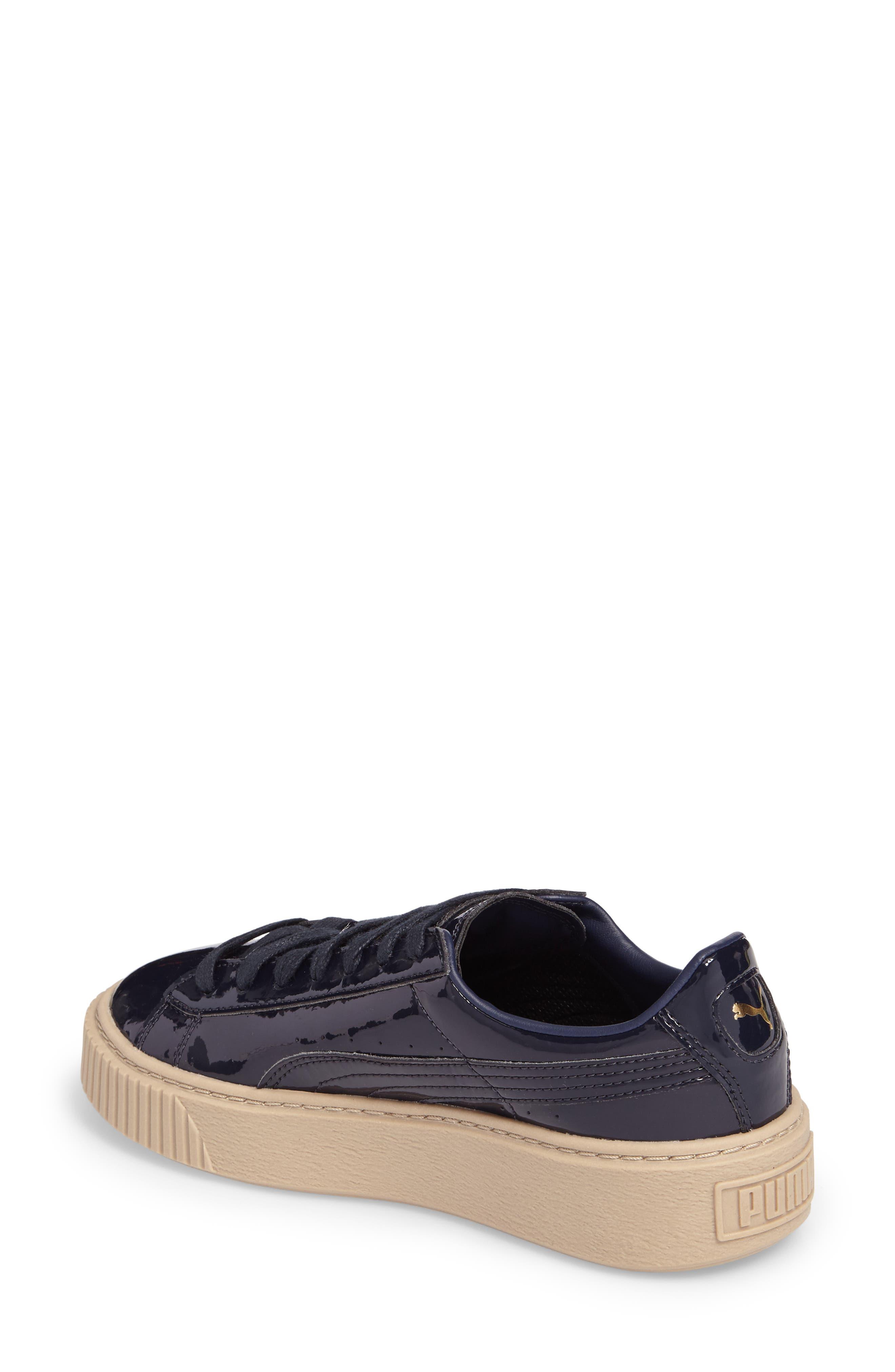 Basket Platform Sneaker,                             Alternate thumbnail 5, color,