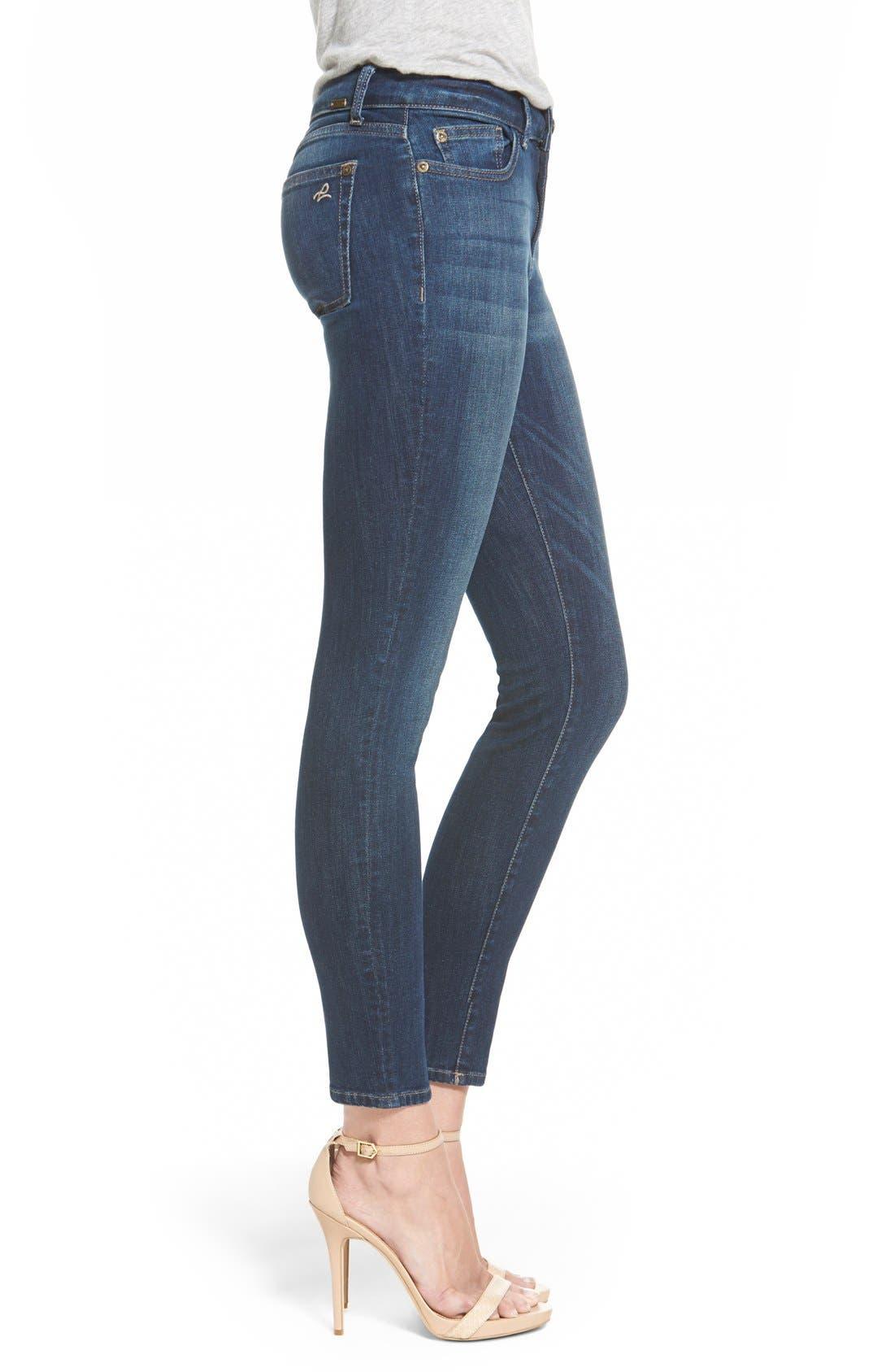 'Margaux' Instasculpt Ankle Skinny Jeans,                             Alternate thumbnail 3, color,                             405
