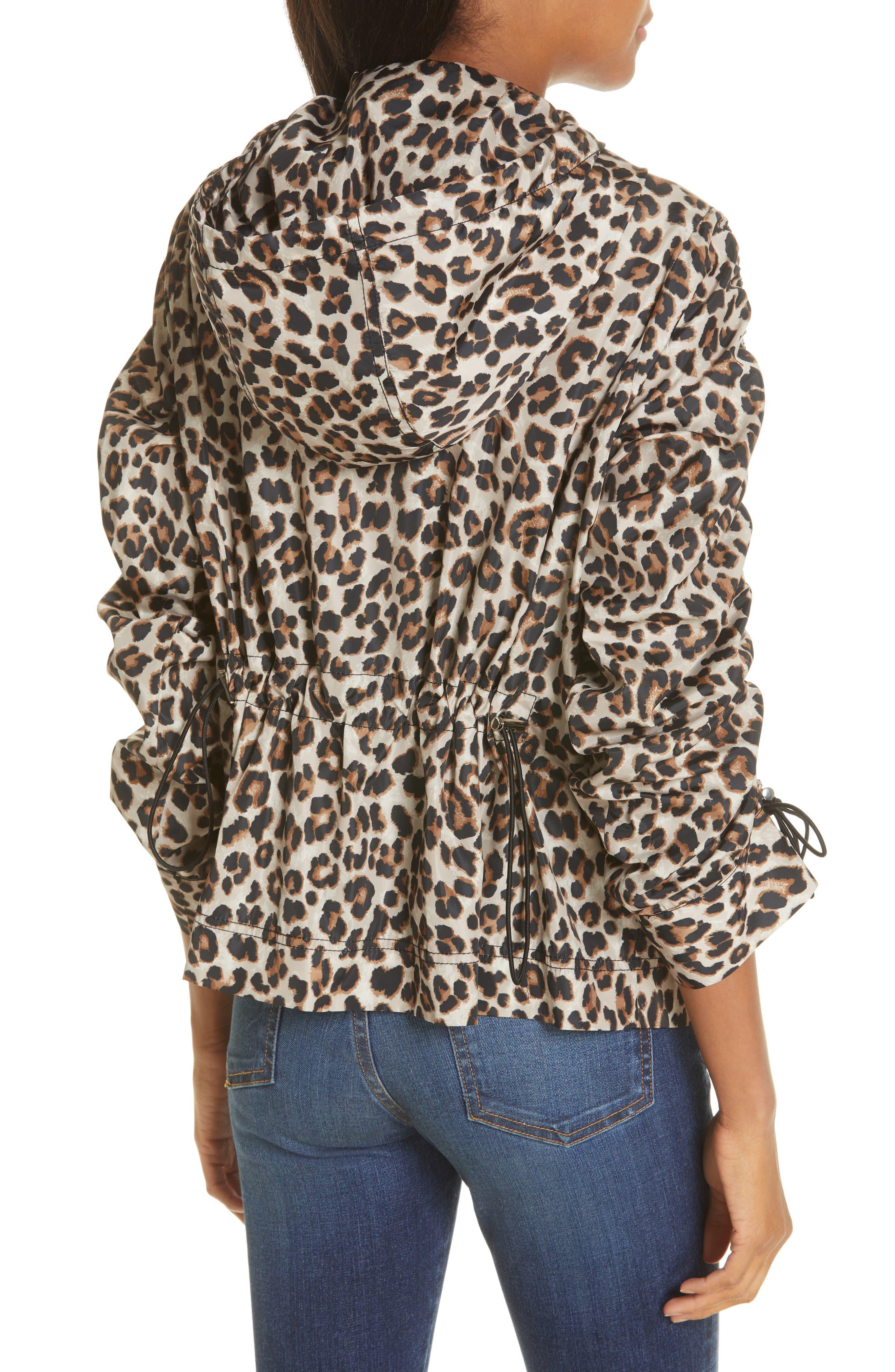 Sibila Leopard Print Jacket,                             Alternate thumbnail 2, color,                             200