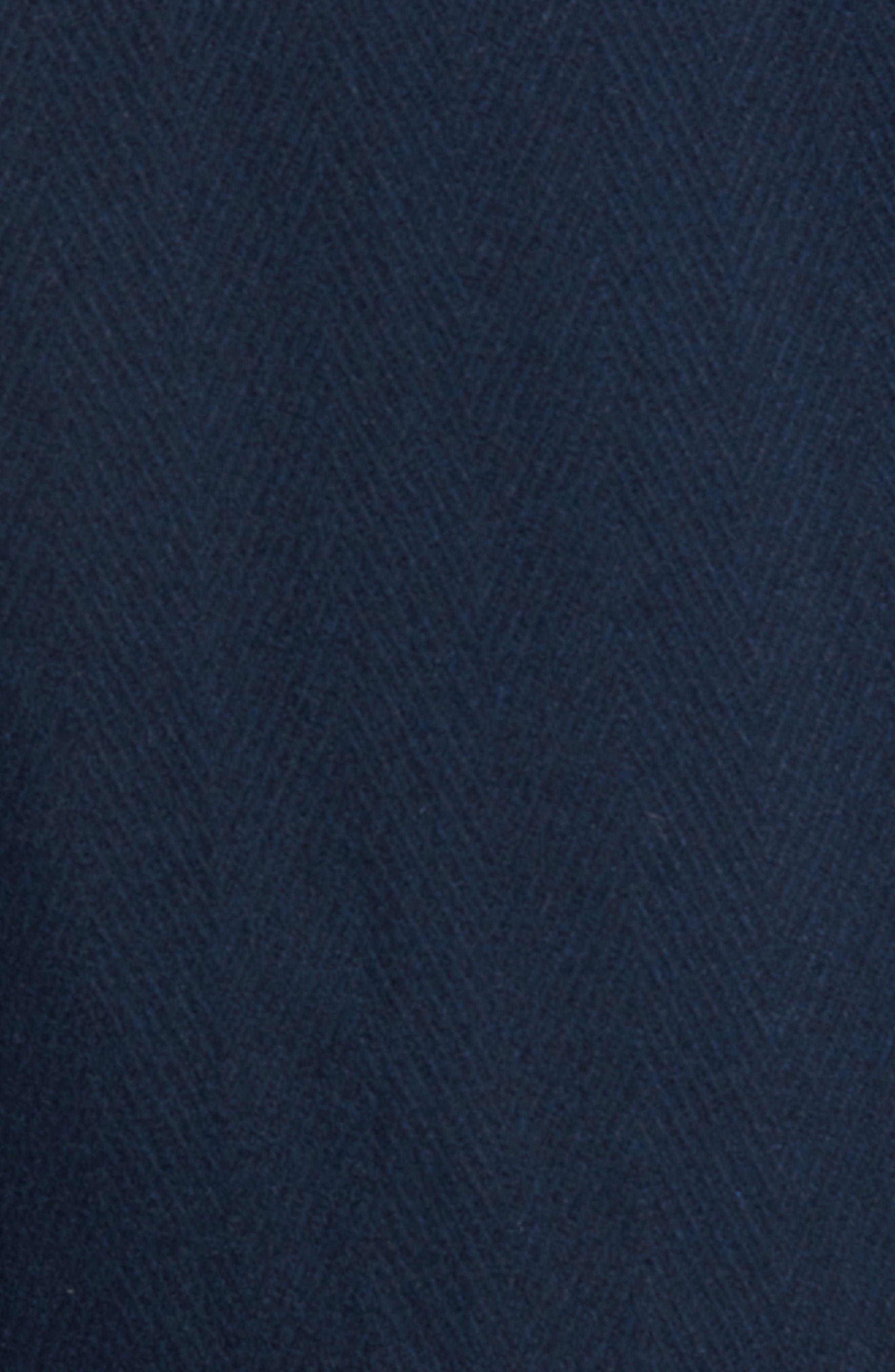 Herringbone Wool Blend Car Coat,                             Alternate thumbnail 11, color,
